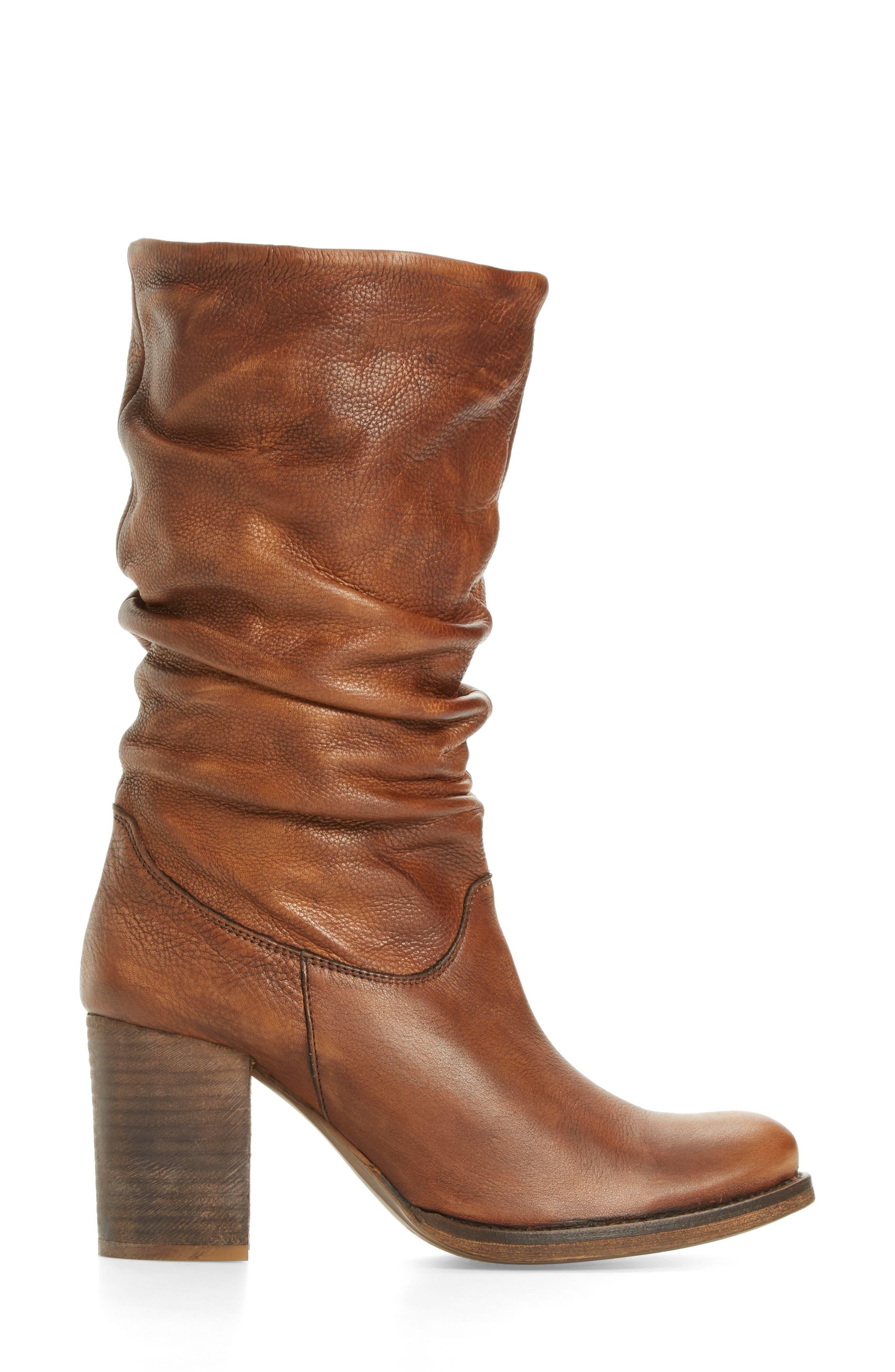 Tell It Block Heel Boot,                             Alternate thumbnail 3, color,                             239