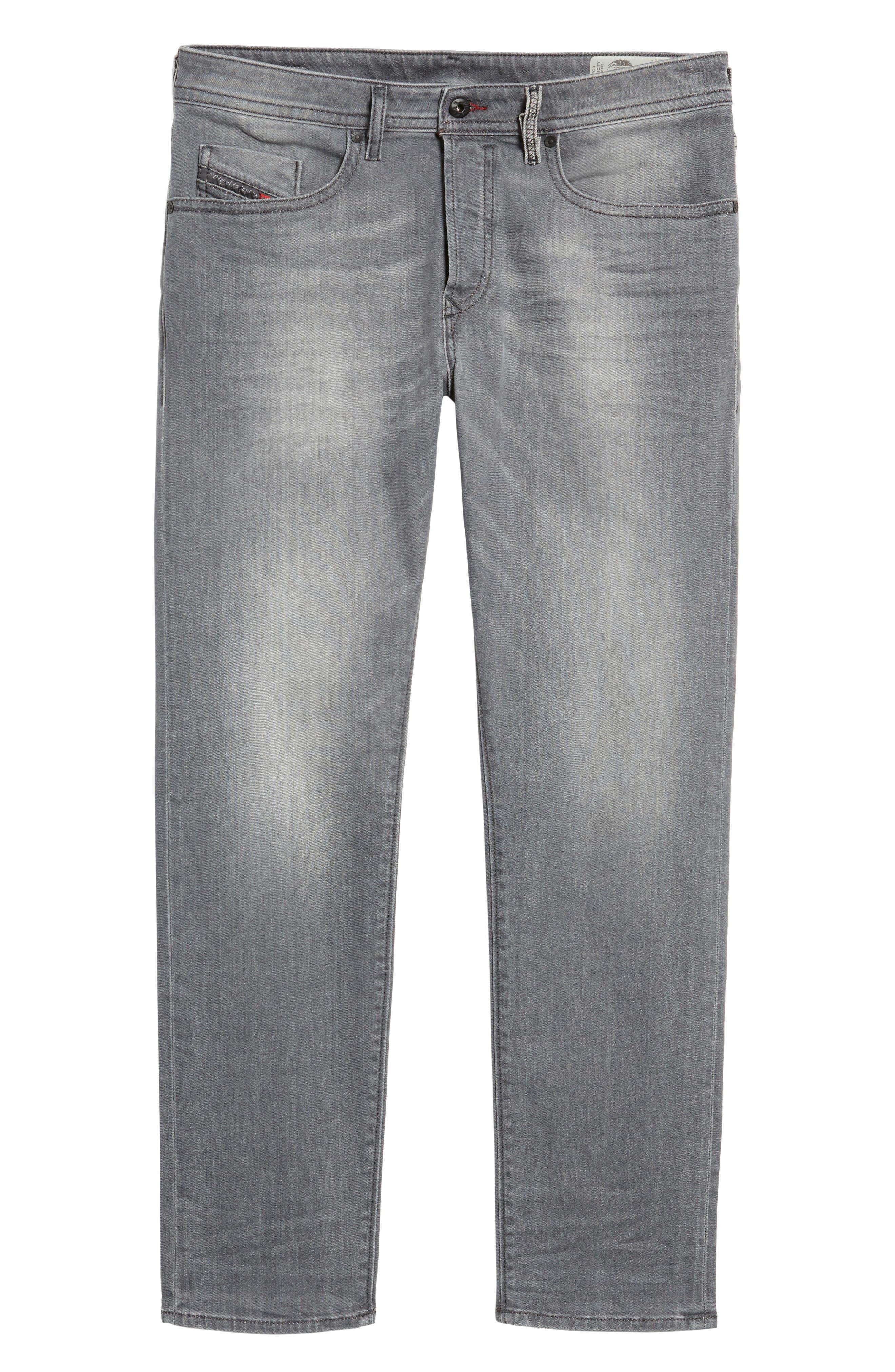 Buster Slim Straight Leg Jeans,                             Alternate thumbnail 6, color,                             020