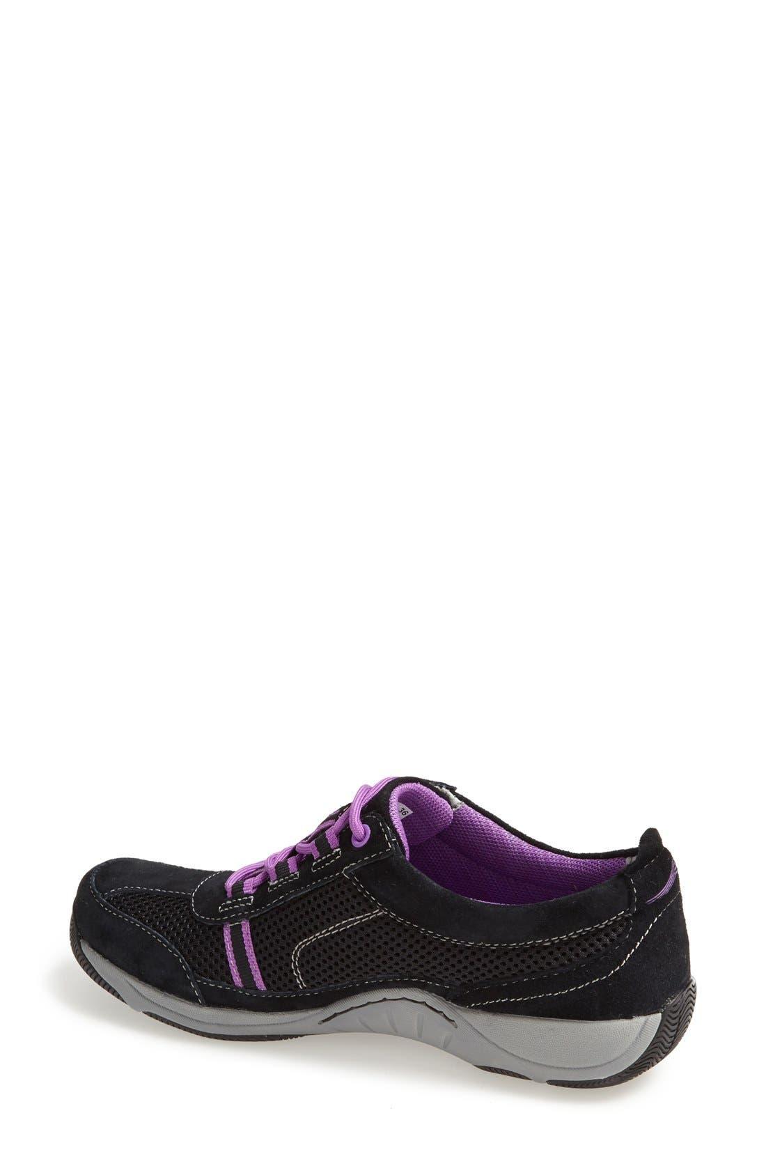 'Helen' Suede & Mesh Sneaker,                             Alternate thumbnail 76, color,
