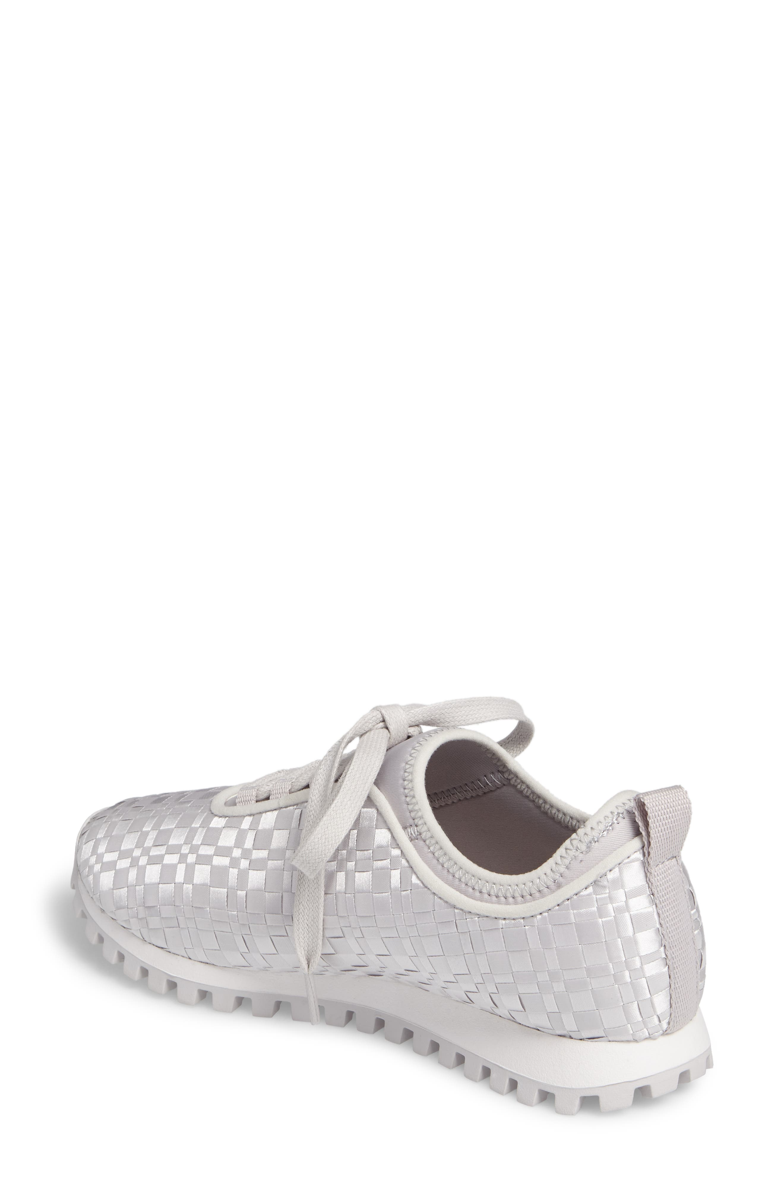 Lynn Sock Fit Woven Sneaker,                             Alternate thumbnail 2, color,                             074