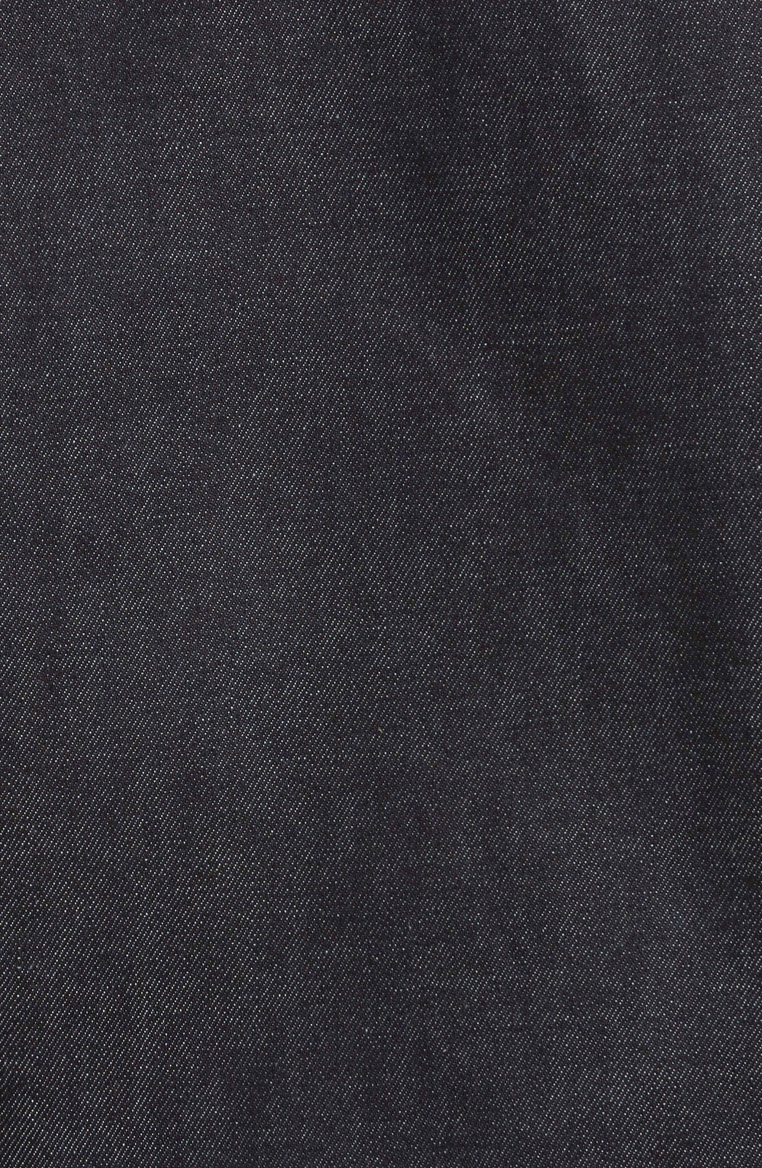Re-Edition Zip Denim Jacket,                             Alternate thumbnail 6, color,                             401