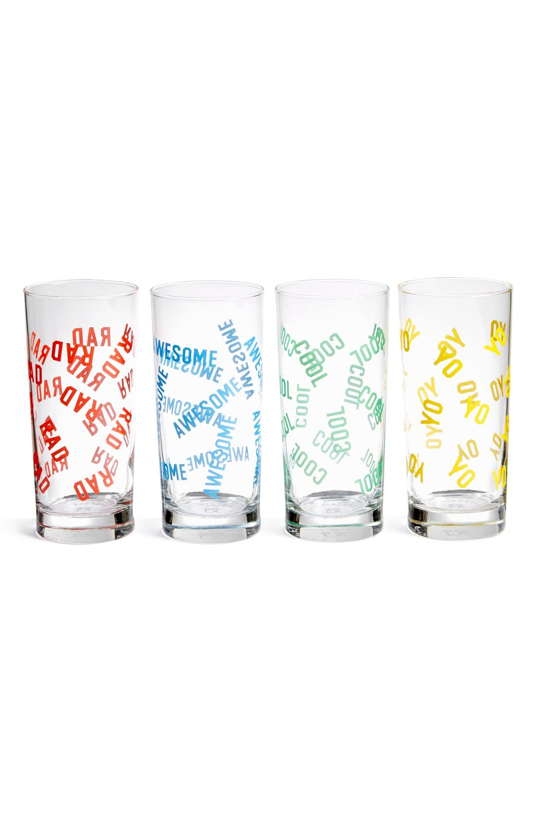 'Baja Tall Cooler' Drinking Glasses, Main, color, 600