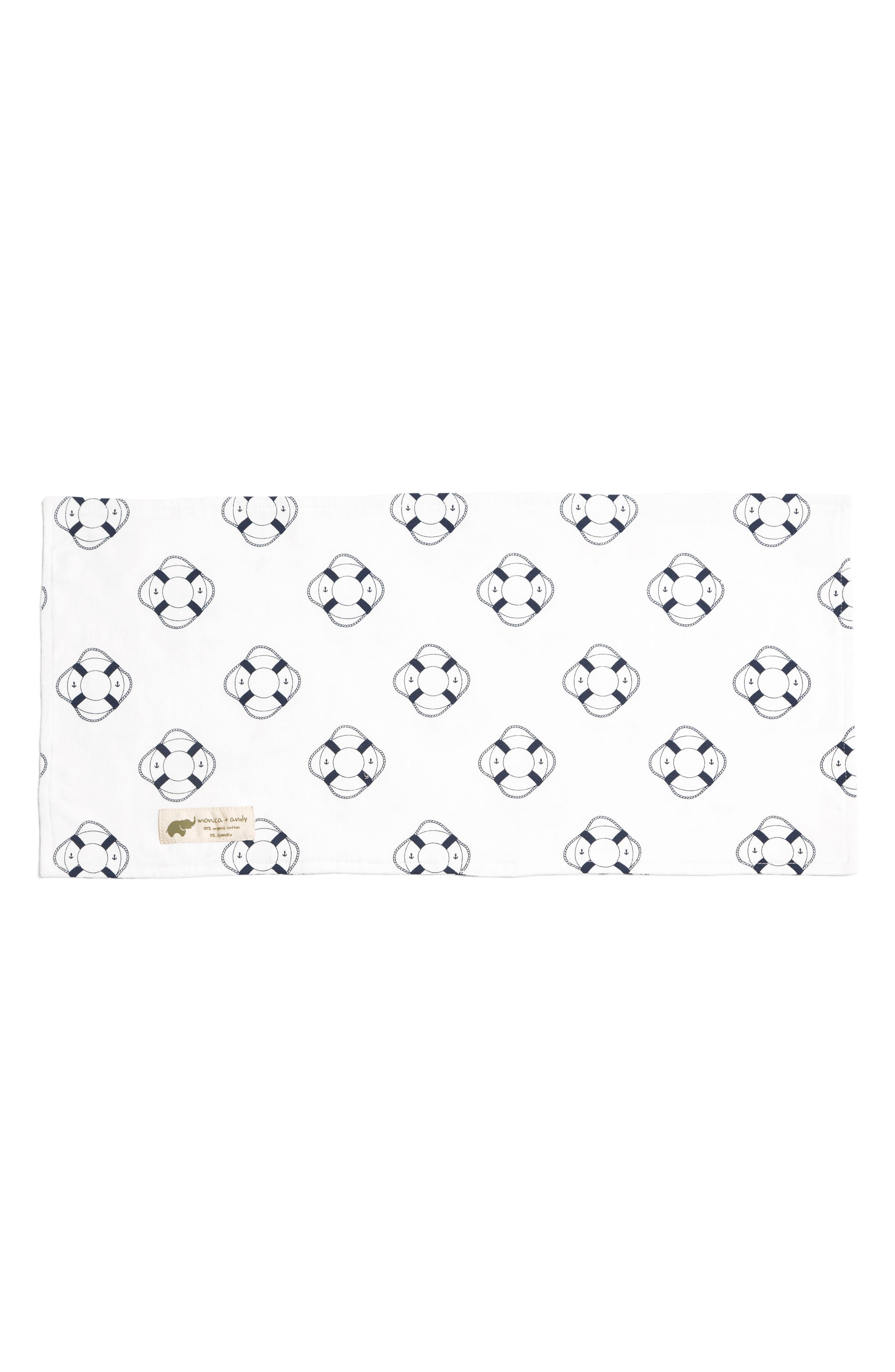 Welcome Aboard Burp Cloth,                             Main thumbnail 1, color,                             403