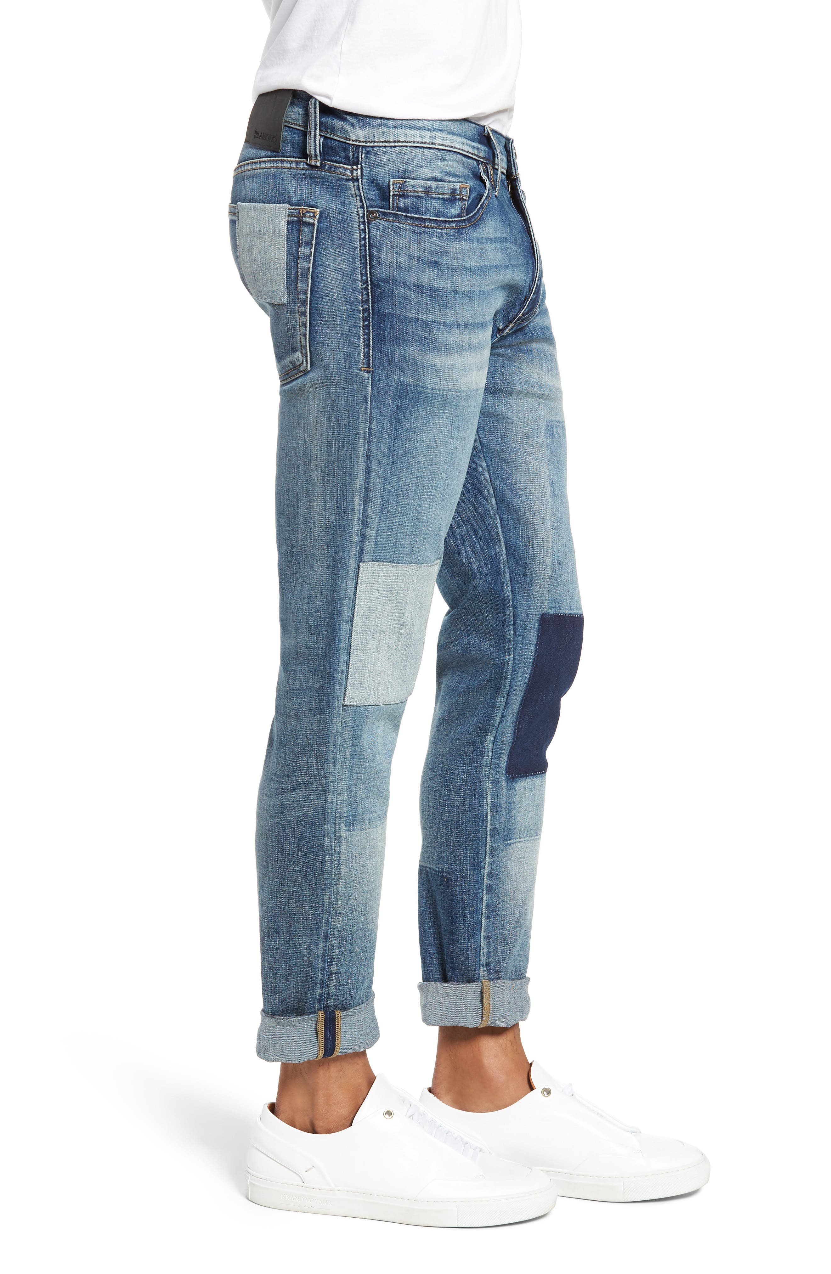 Stanton Straight Leg Jeans,                             Alternate thumbnail 3, color,                             COLD ONE