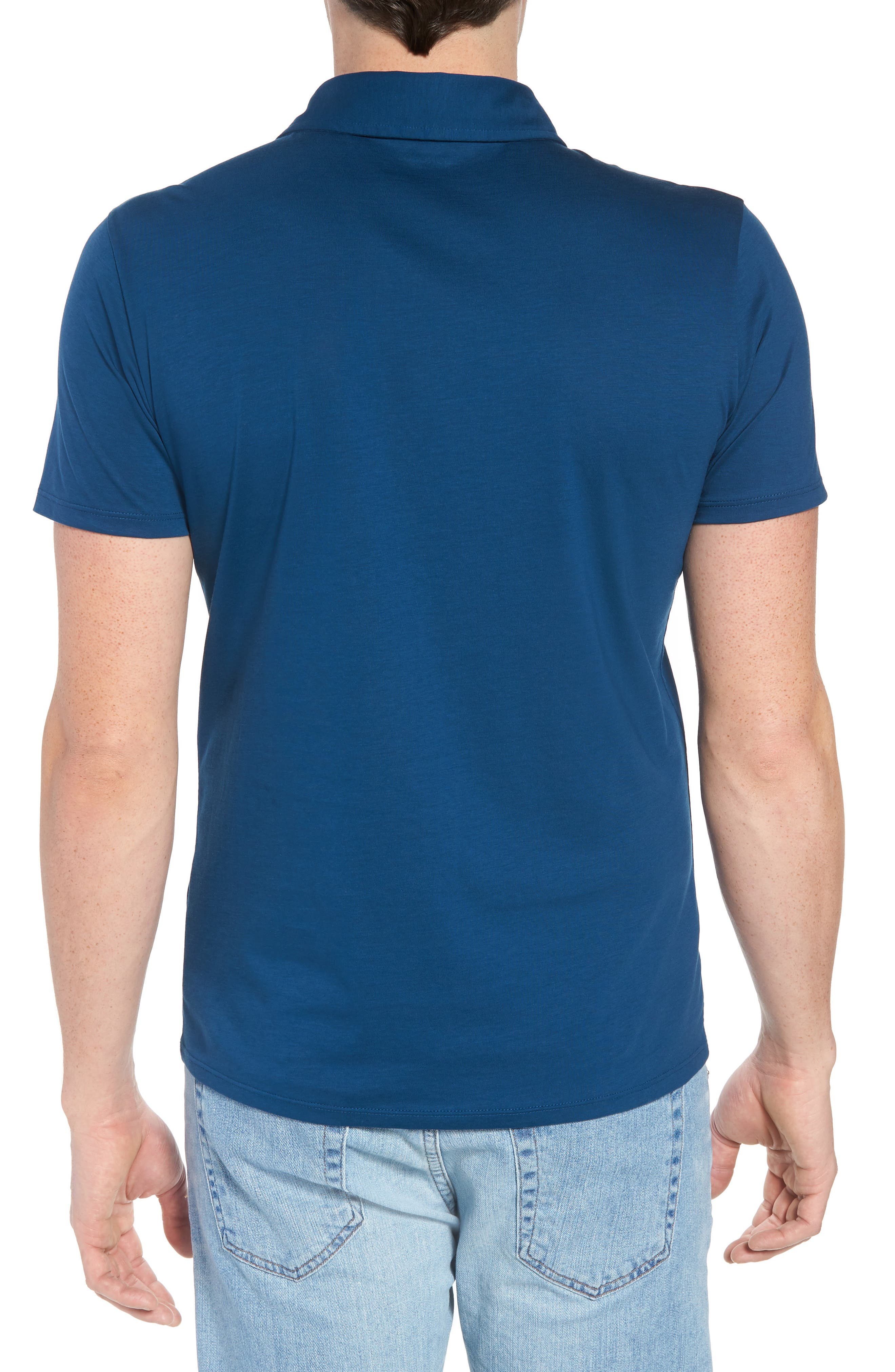Refined Jersey Polo,                             Alternate thumbnail 15, color,
