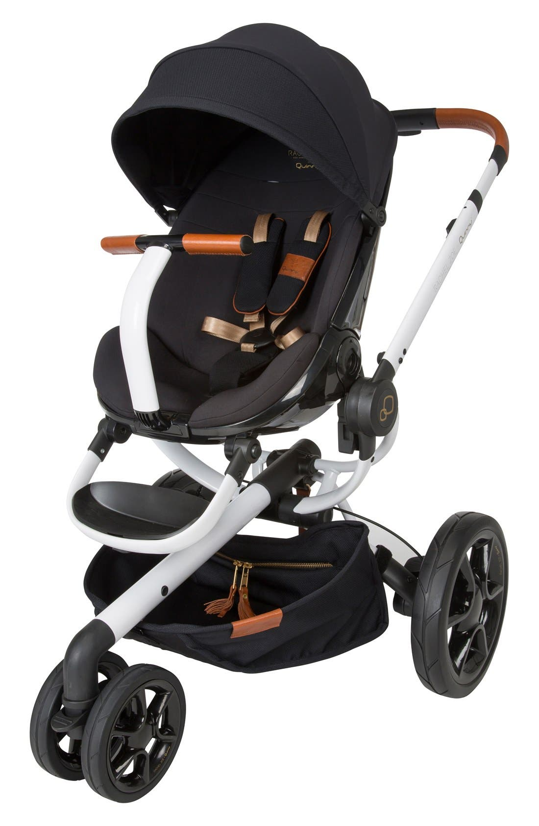 x Rachel Zoe Moodd Jet Set Special Edition Single Stroller,                             Main thumbnail 1, color,                             WHITE