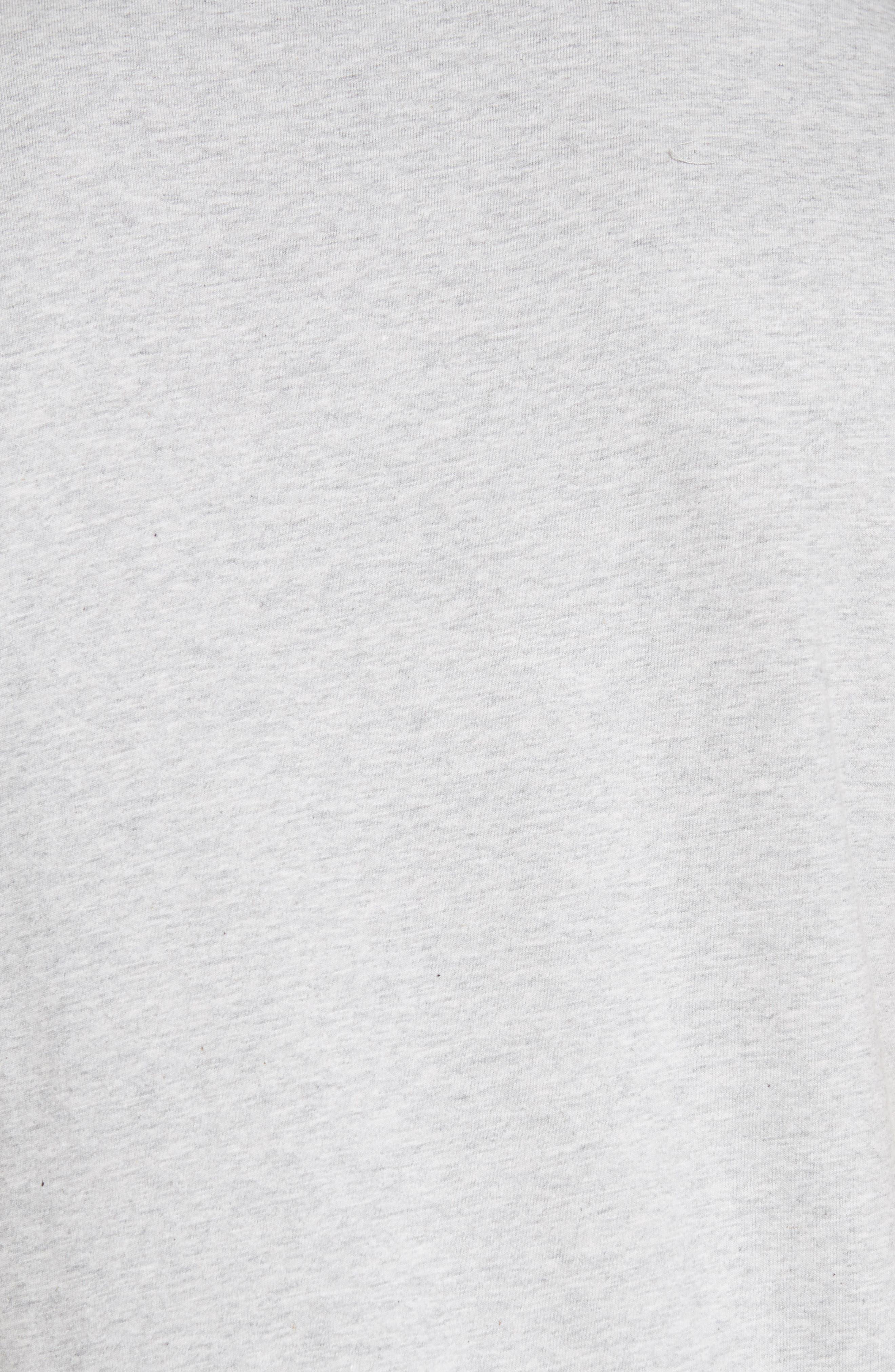 Niels Logo Pocket T-Shirt,                             Alternate thumbnail 5, color,                             GREY