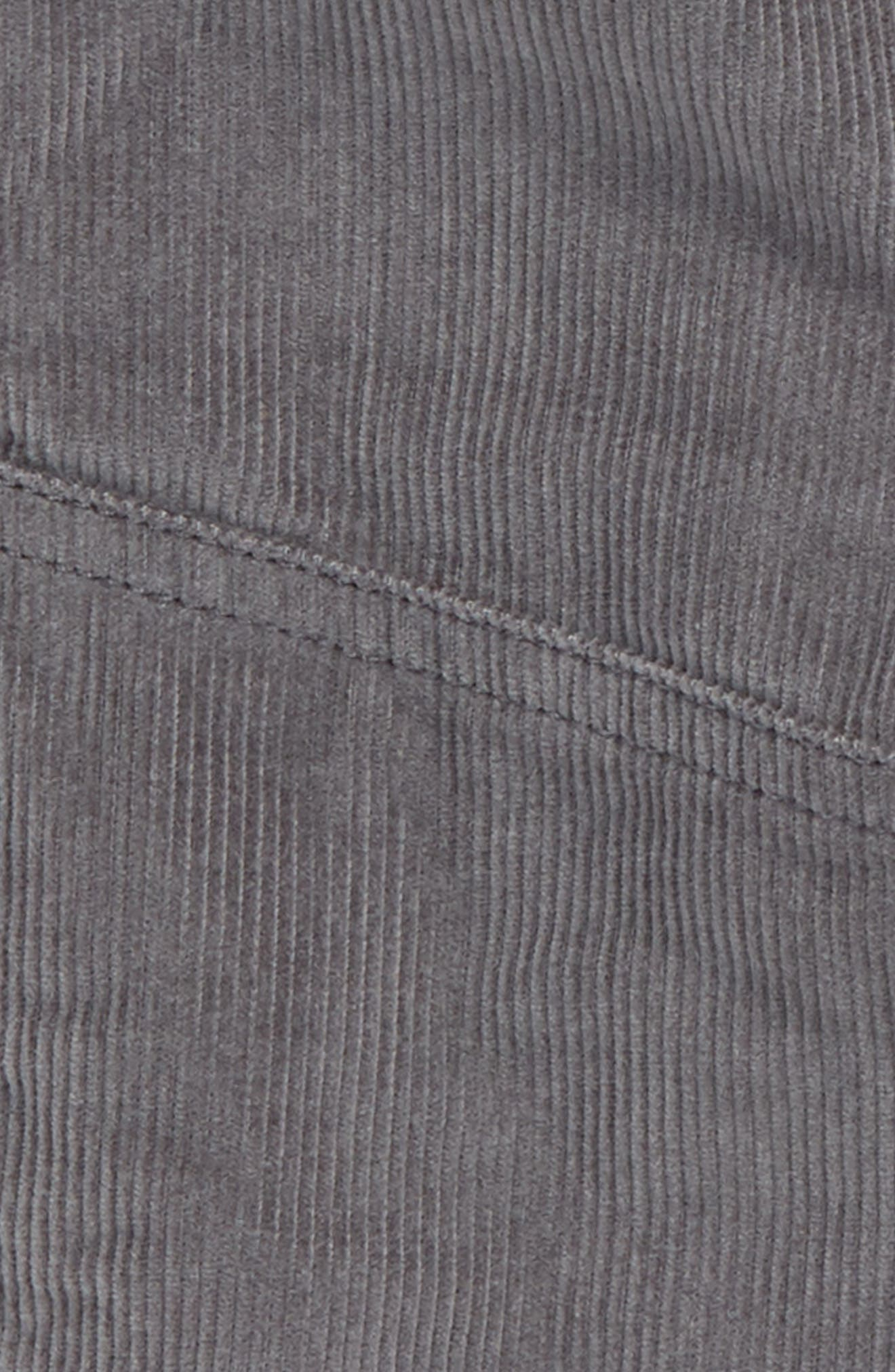 Lined Corduroy Jogger Pants,                             Alternate thumbnail 2, color,                             SHARK FIN