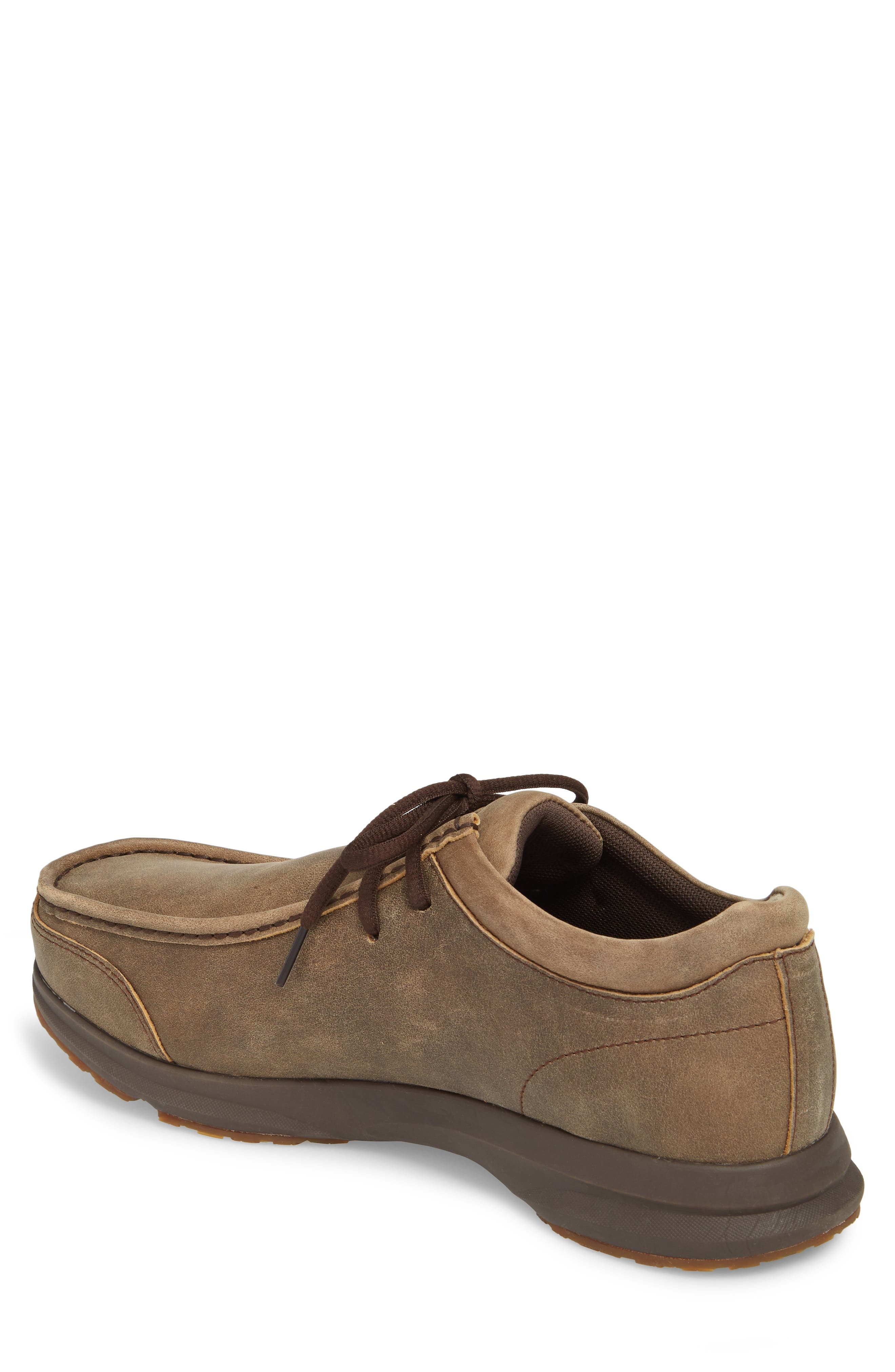 Spitfire Moc Toe Lace-Up,                             Alternate thumbnail 2, color,                             BROWN LEATHER