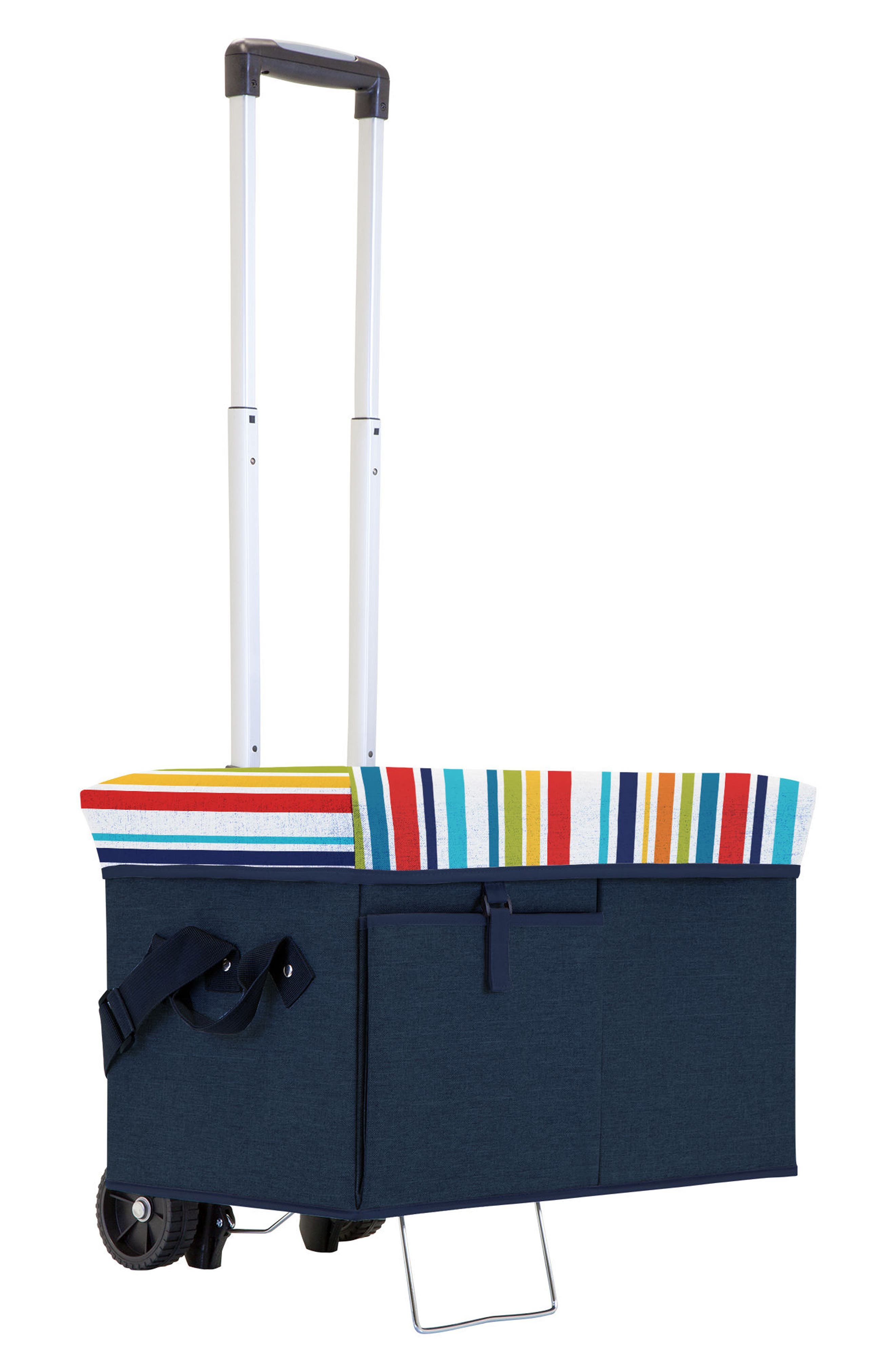 Picnic Time Ottoman Cooler with Trolley,                         Main,                         color, 410