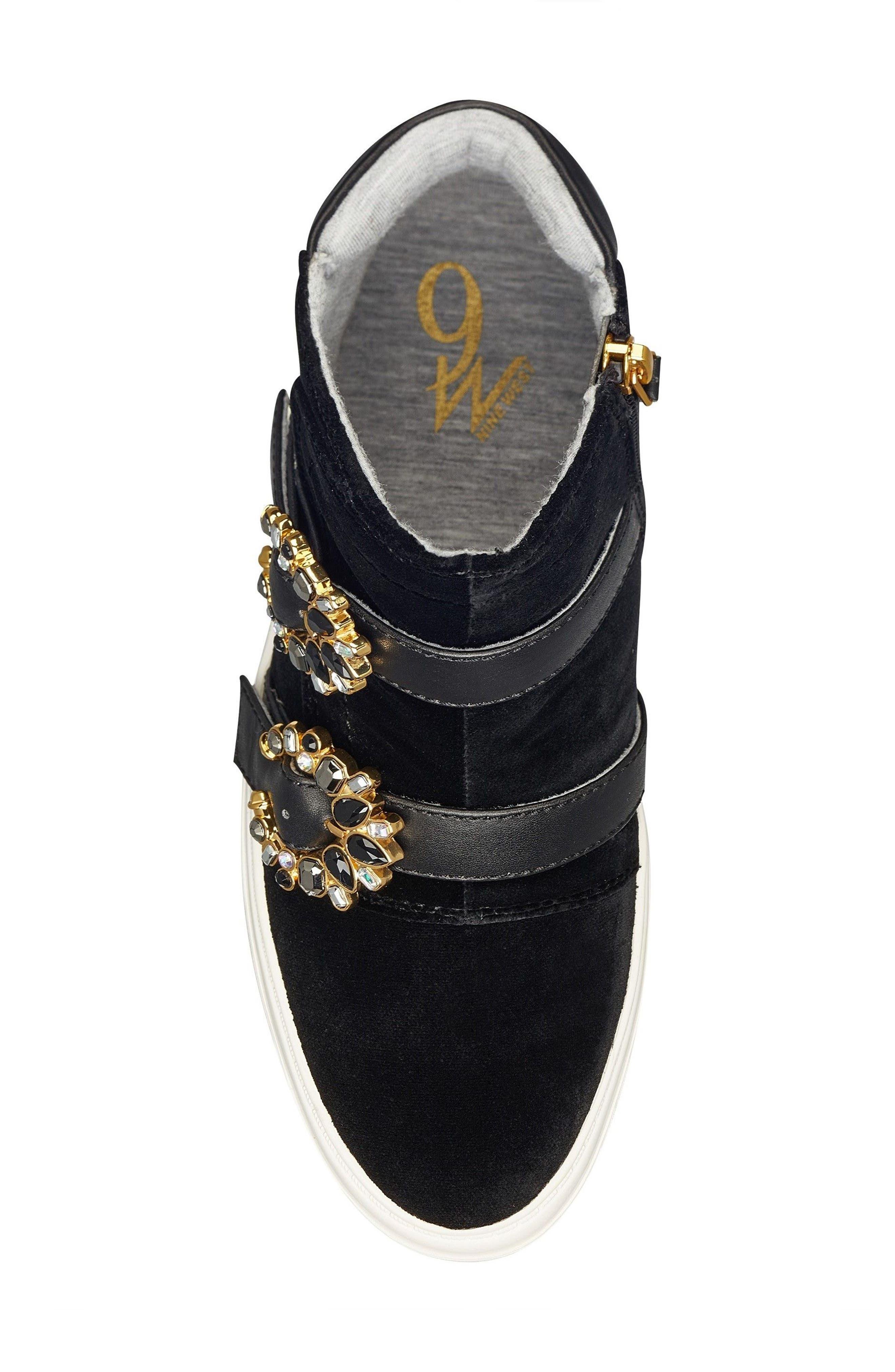 Orisna High Top Sneaker,                             Alternate thumbnail 5, color,                             002