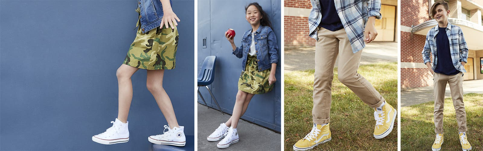 New school year = new kids' shoes.