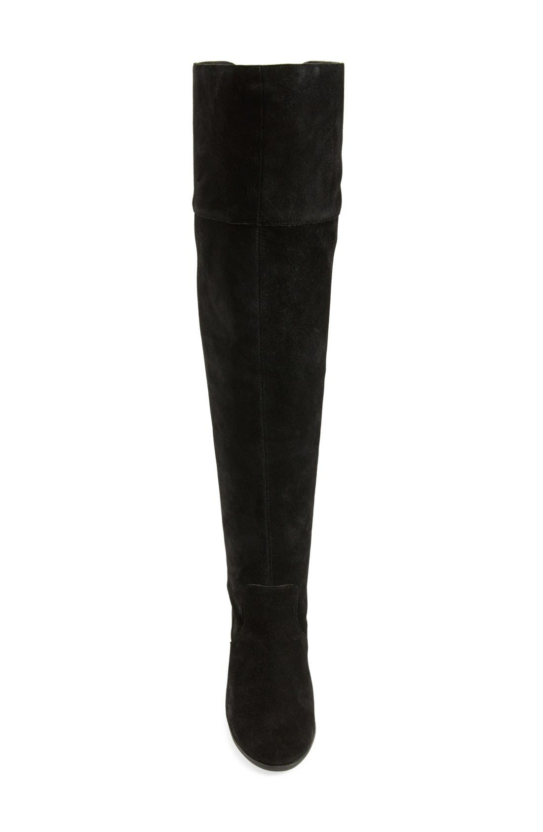 JessicaSimpson'Ebyy' Over the KneeBoot,                             Alternate thumbnail 3, color,                             001