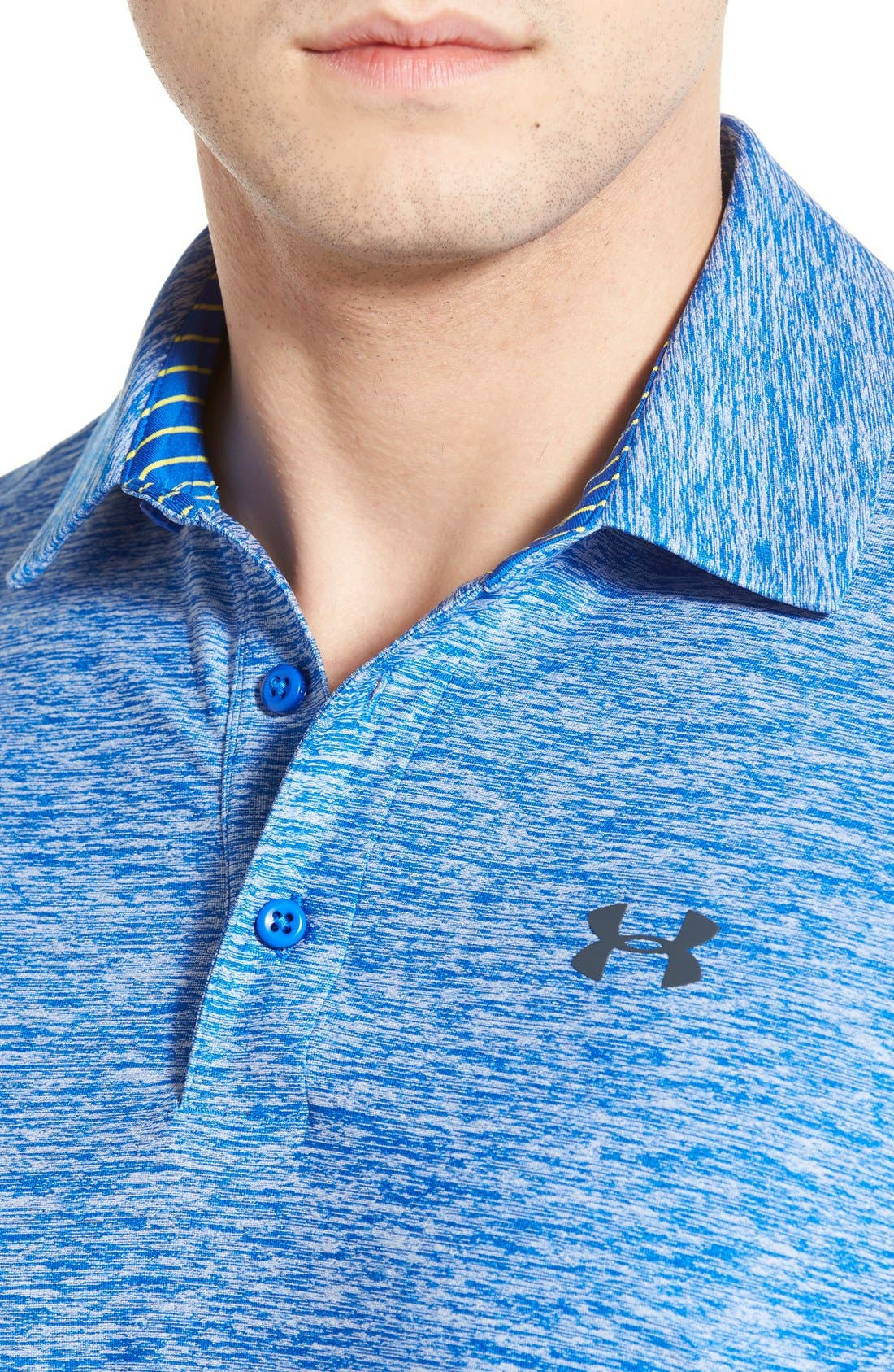 'Playoff' Loose Fit Short Sleeve Polo,                             Alternate thumbnail 86, color,