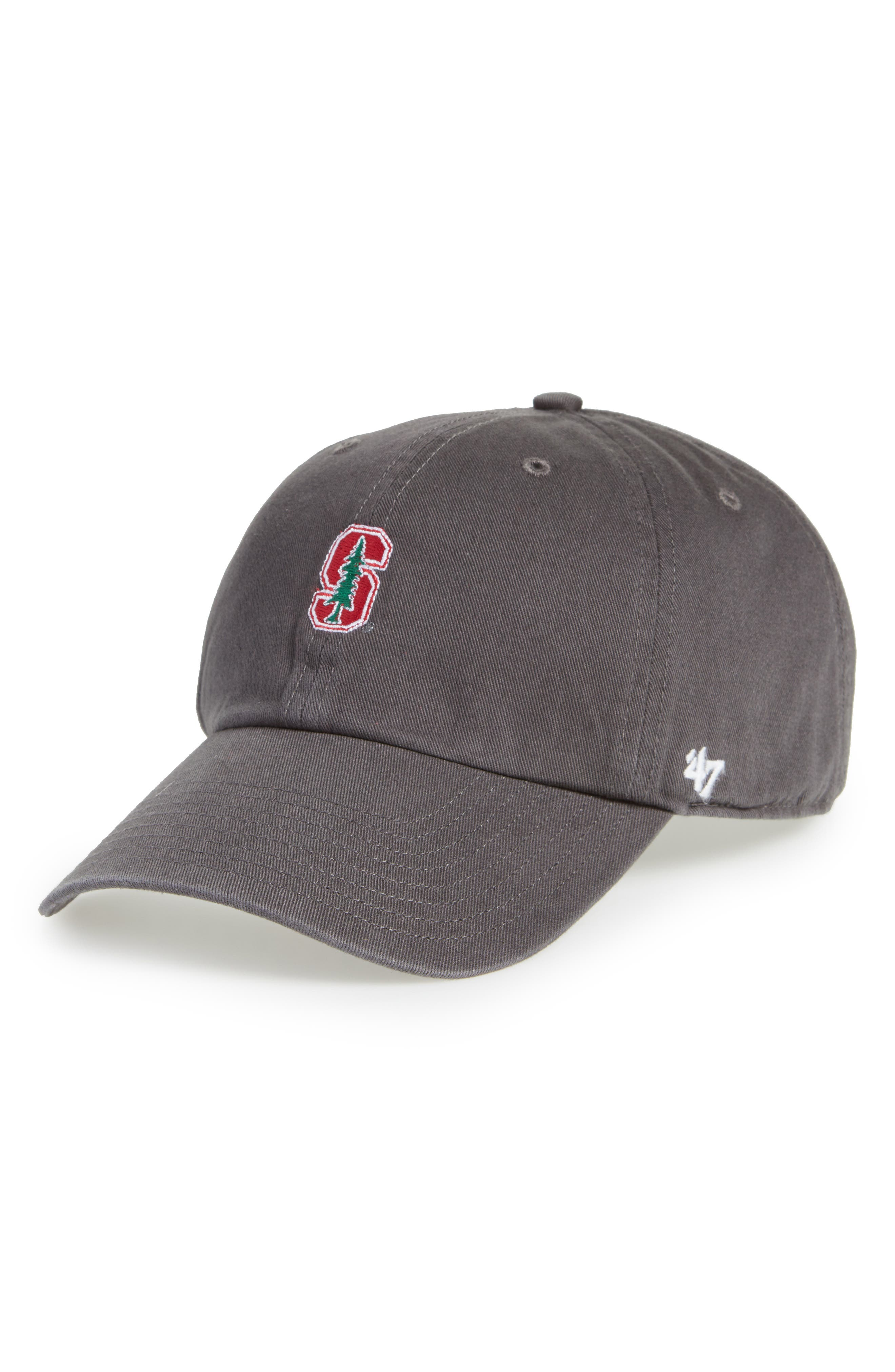 Collegiate Clean-Up Stanford Cardinals Ball Cap,                             Main thumbnail 1, color,                             020