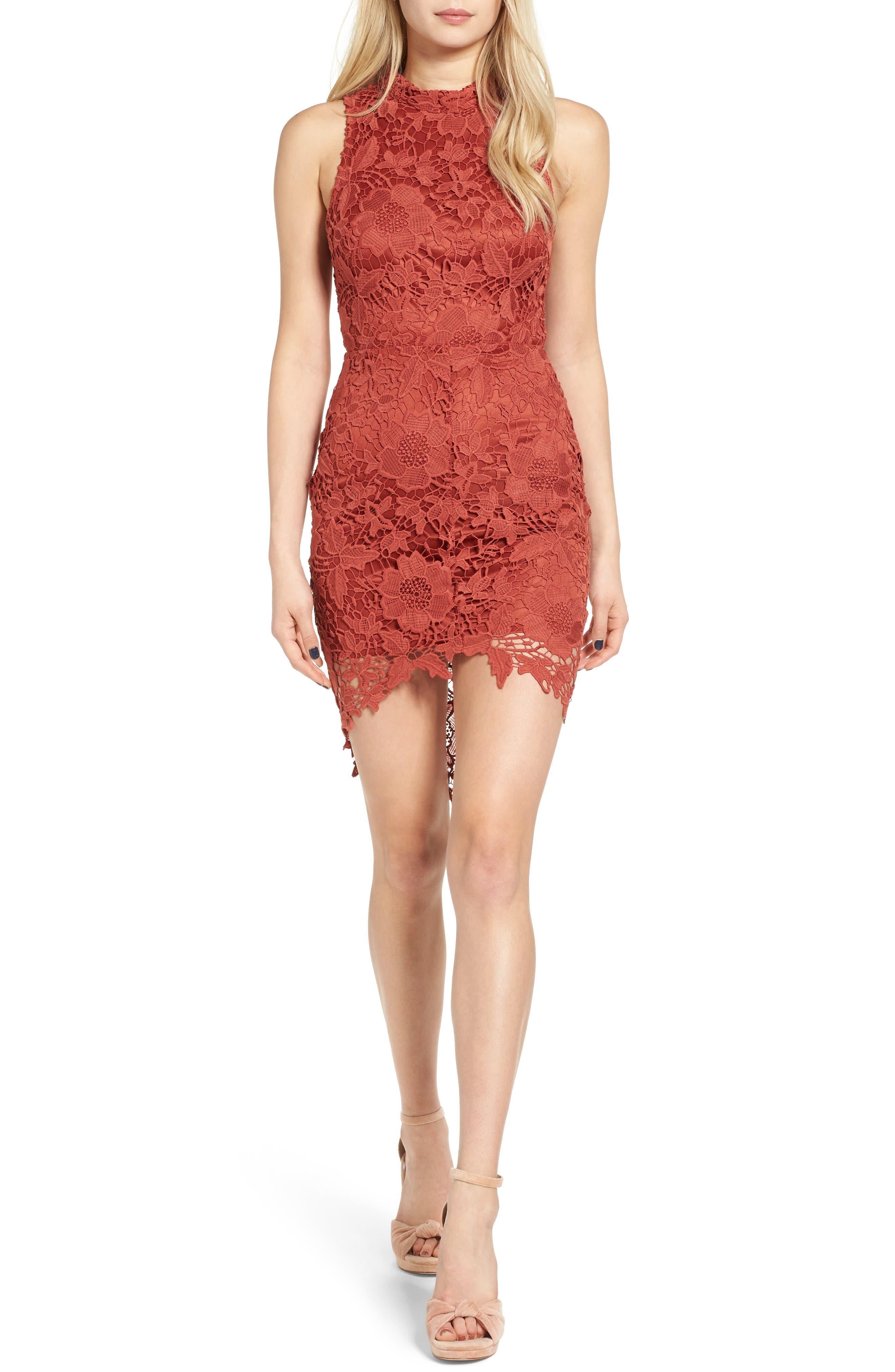 'Samantha' Lace Dress,                             Main thumbnail 6, color,