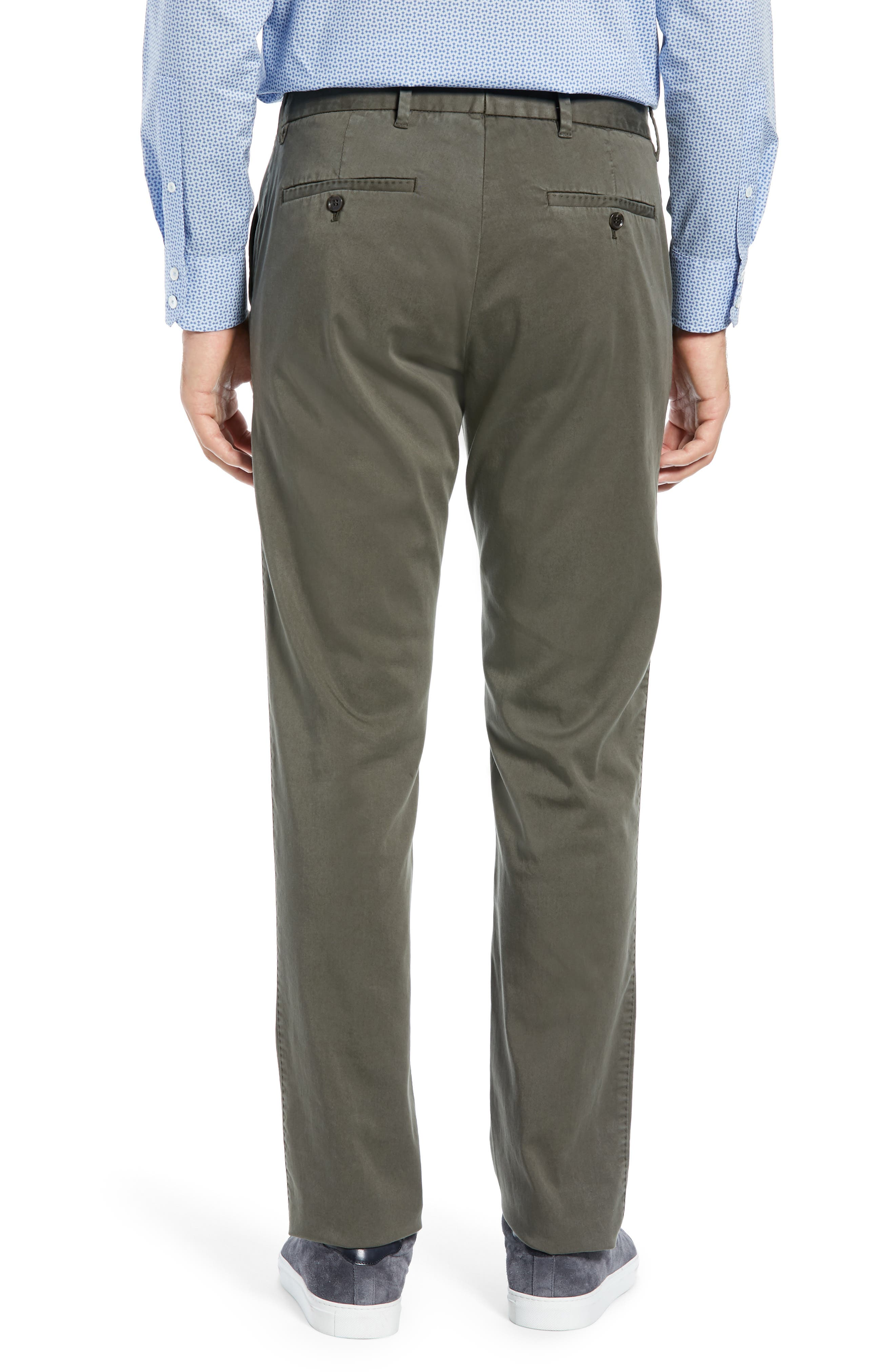 Aster Straight Fit Pants,                             Alternate thumbnail 2, color,                             OLIVE