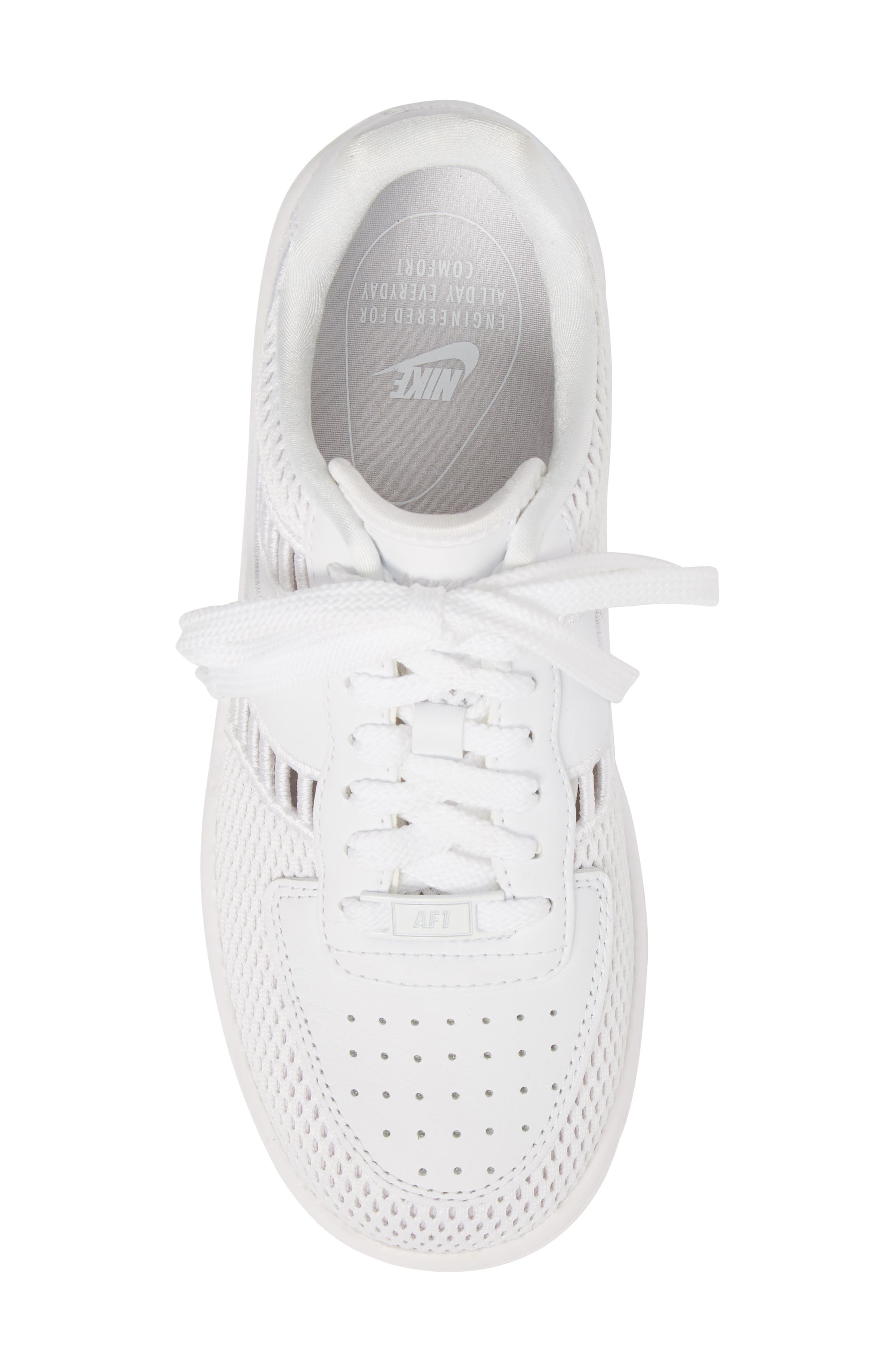Air Force 1 Upstep SI Mesh Sneaker,                             Alternate thumbnail 5, color,                             100