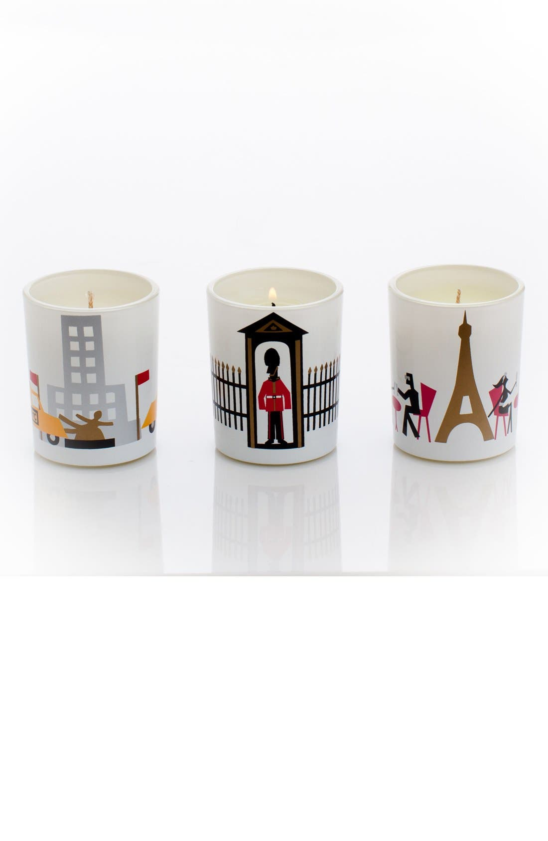 'Jetsetter' Scented Votive Candles,                             Main thumbnail 1, color,                             000