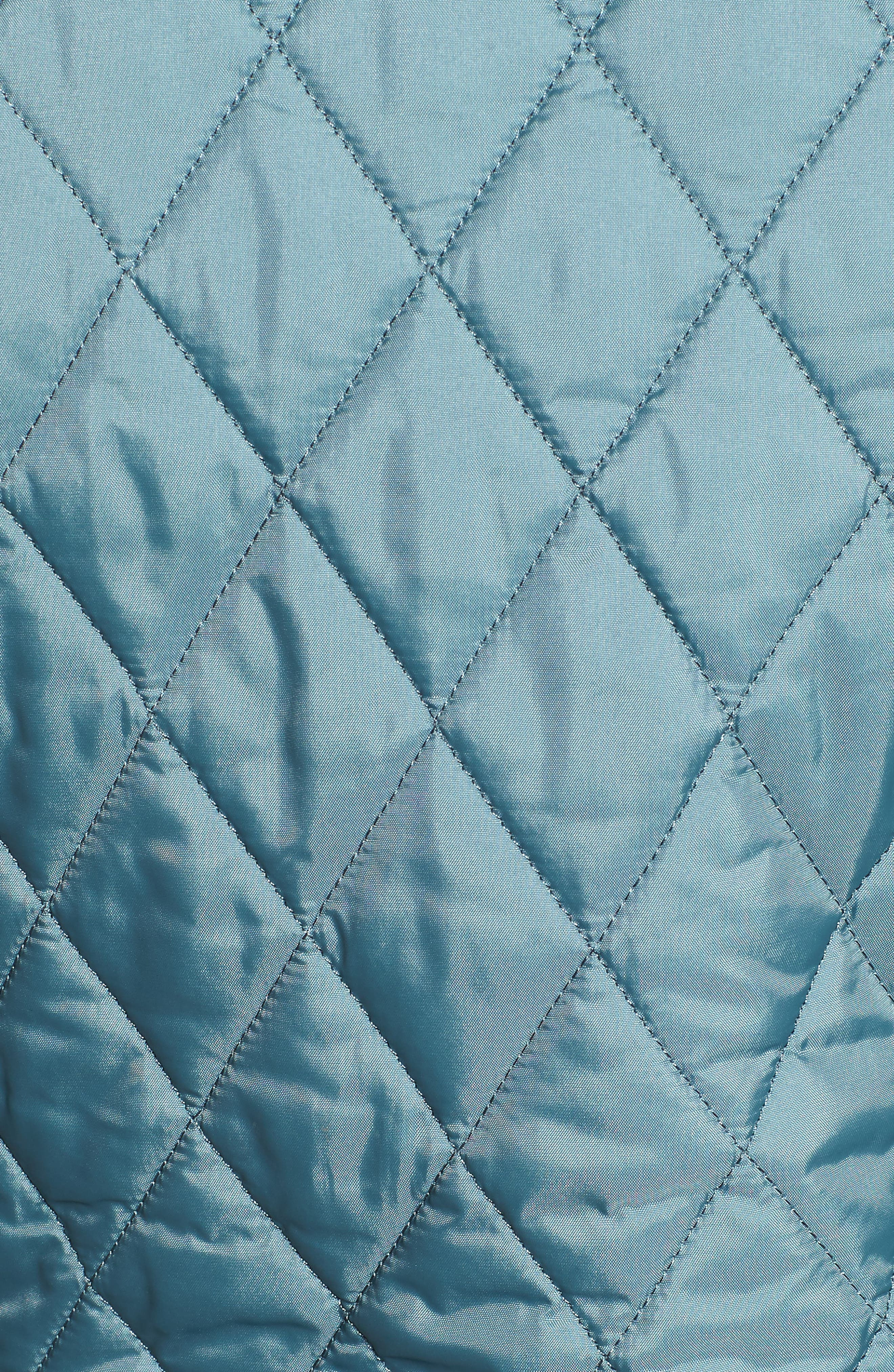 Annandale Quilted Jacket,                             Alternate thumbnail 7, color,                             EUCALYPTUS