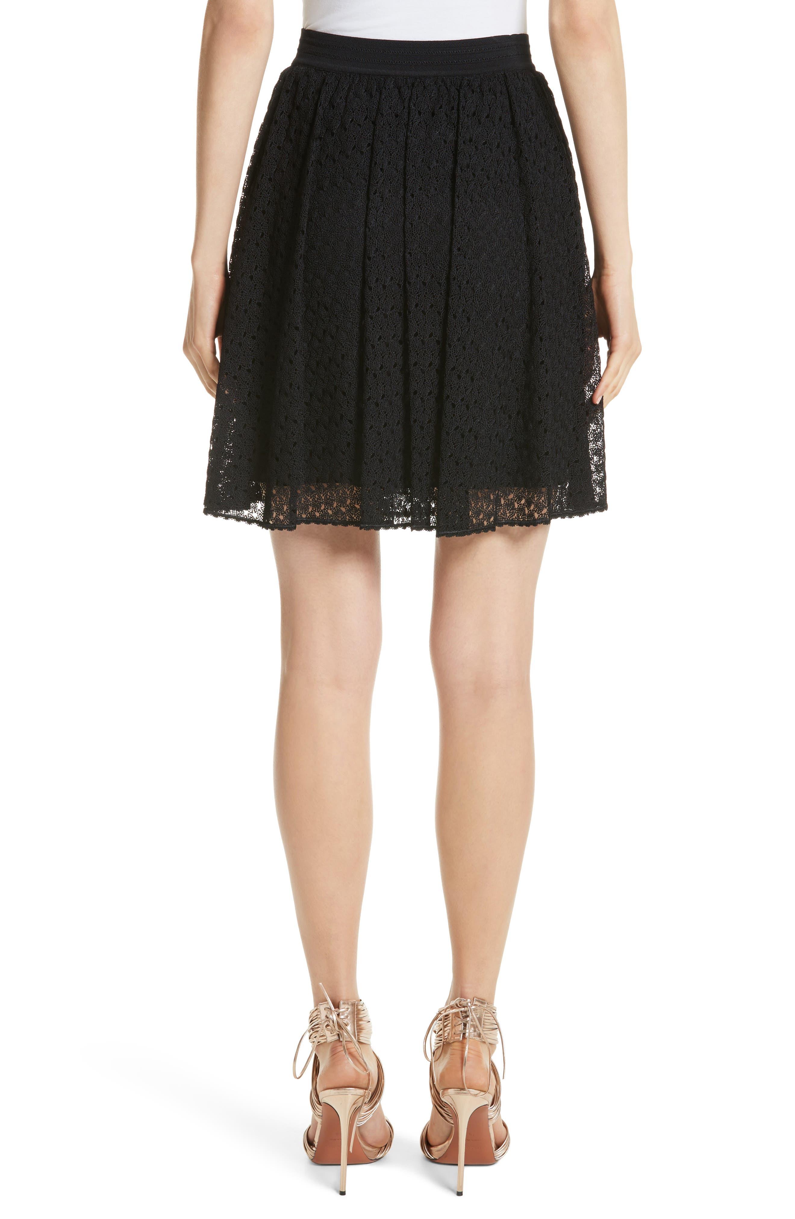Knit Miniskirt,                             Alternate thumbnail 2, color,
