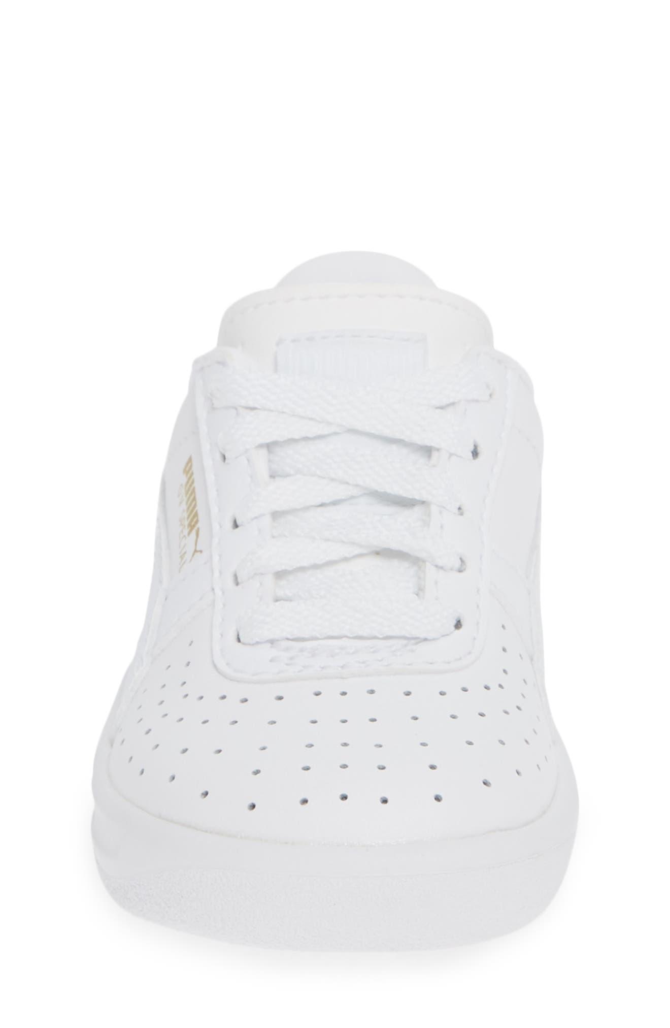 GV Special Sneaker,                             Alternate thumbnail 4, color,                             PUMA WHITE-PUMA TEAM GOLD