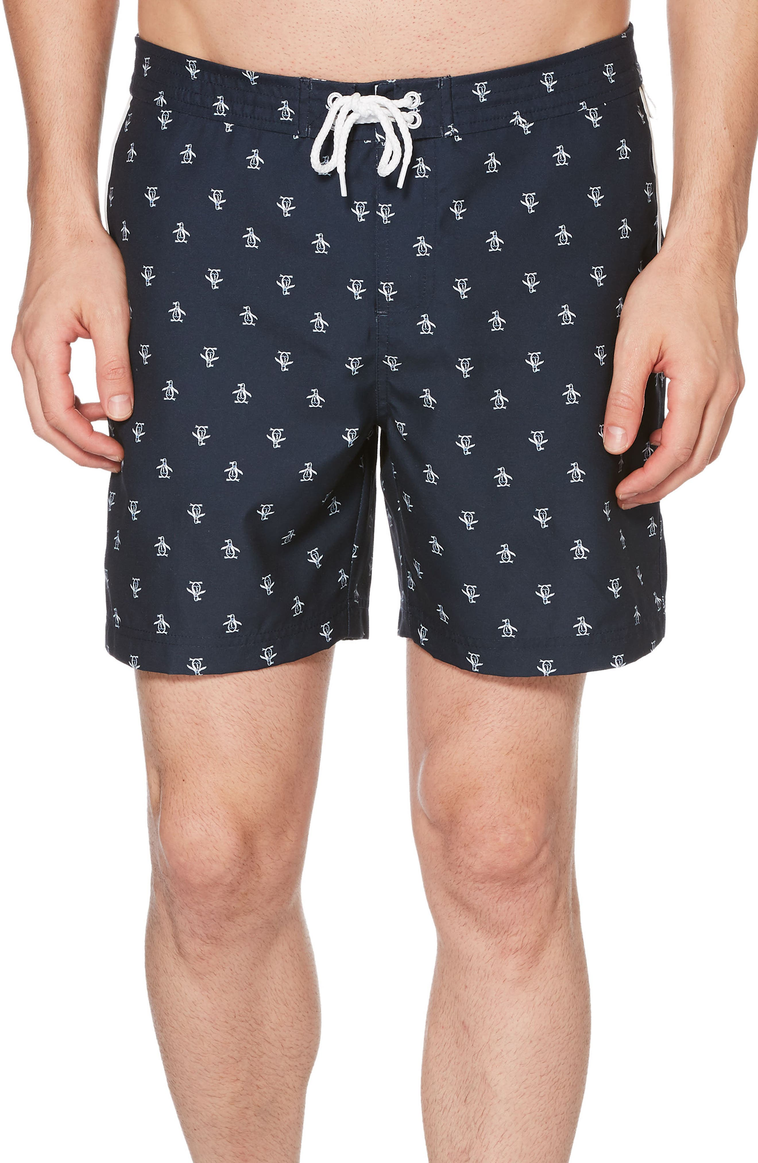 Stretch Swim Trunks,                         Main,                         color, 010