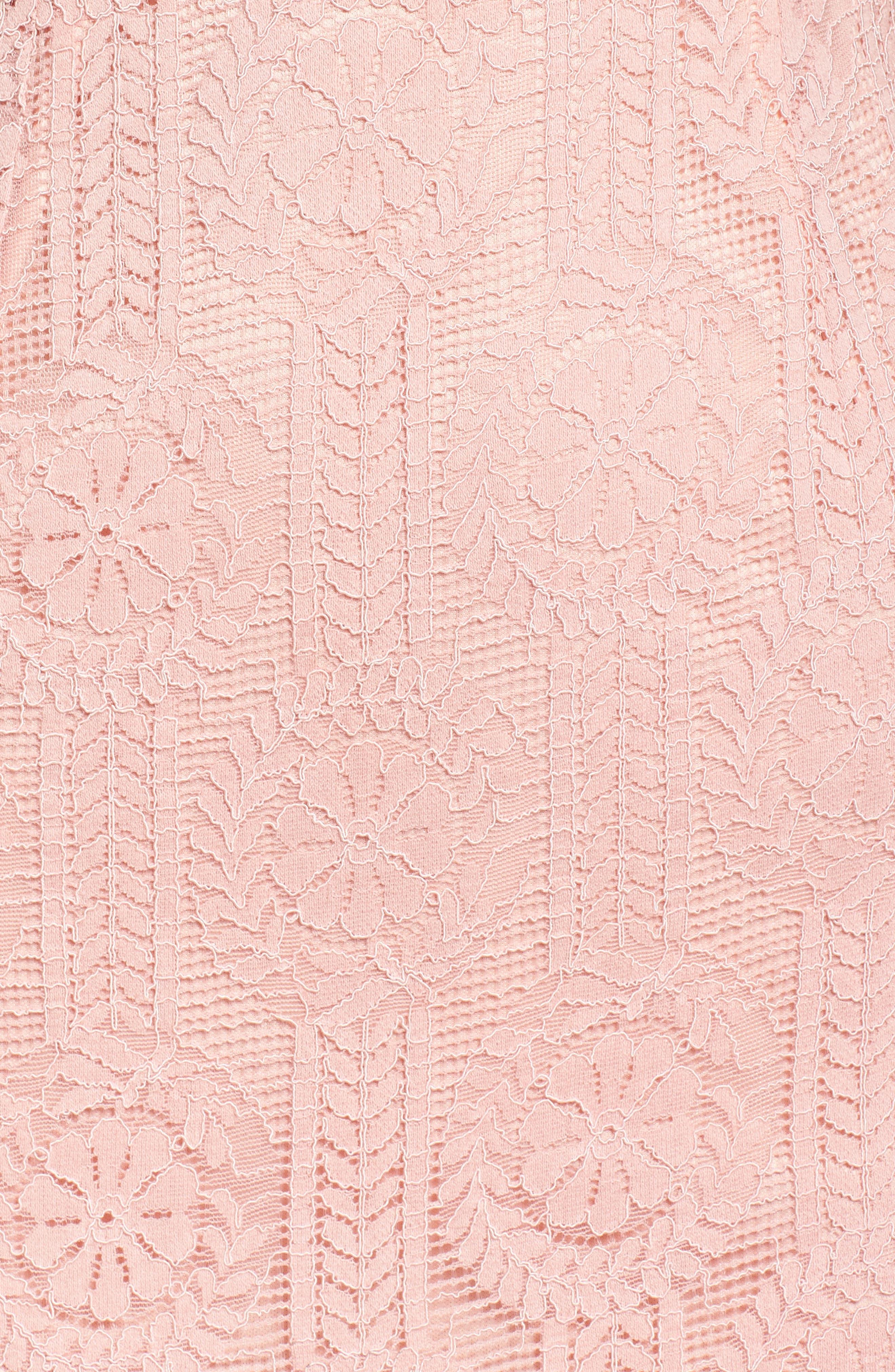 Lace Midi Dress,                             Alternate thumbnail 10, color,