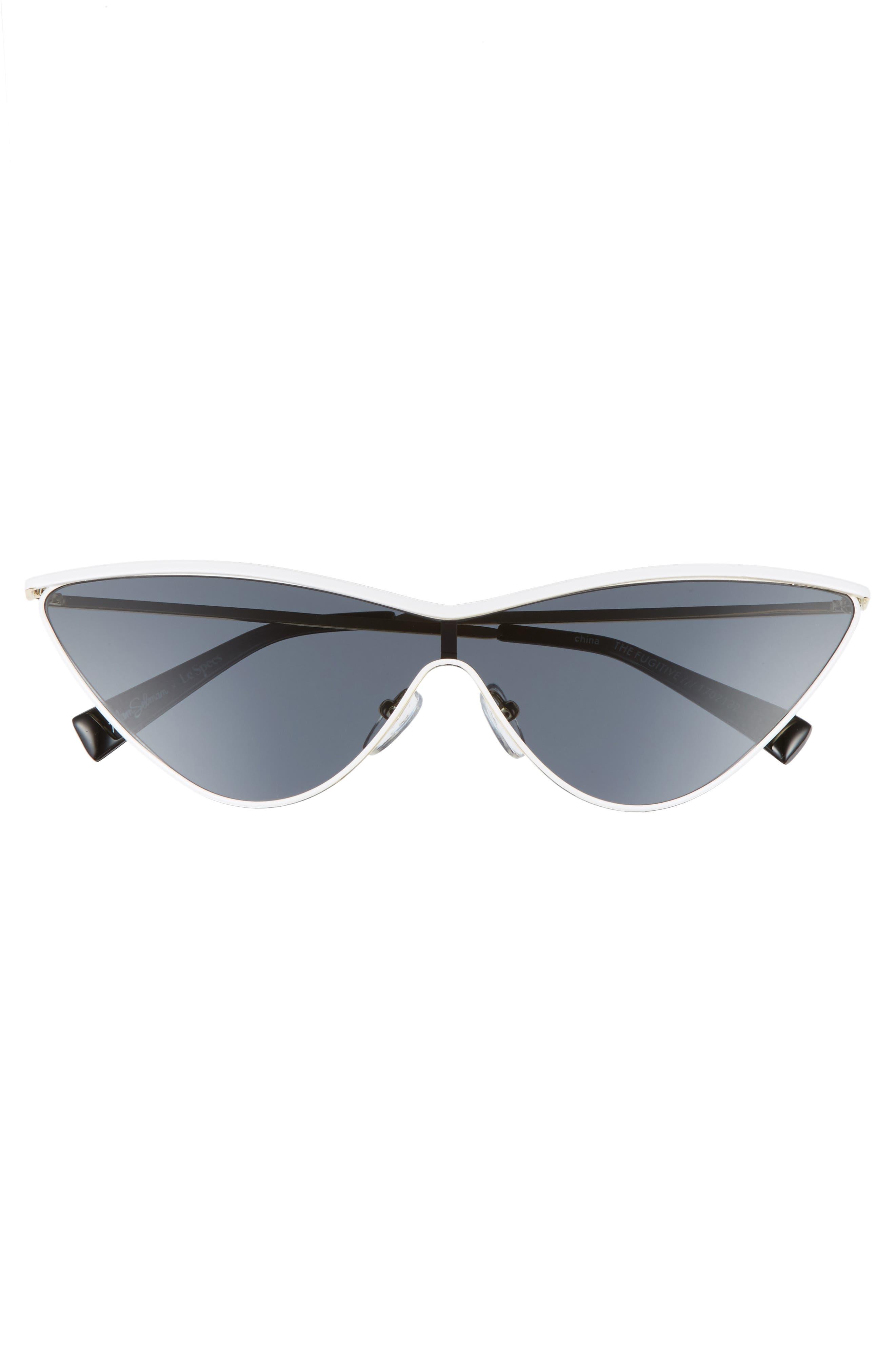 The Fugitive 71mm Sunglasses,                             Alternate thumbnail 5, color,                             WHITE