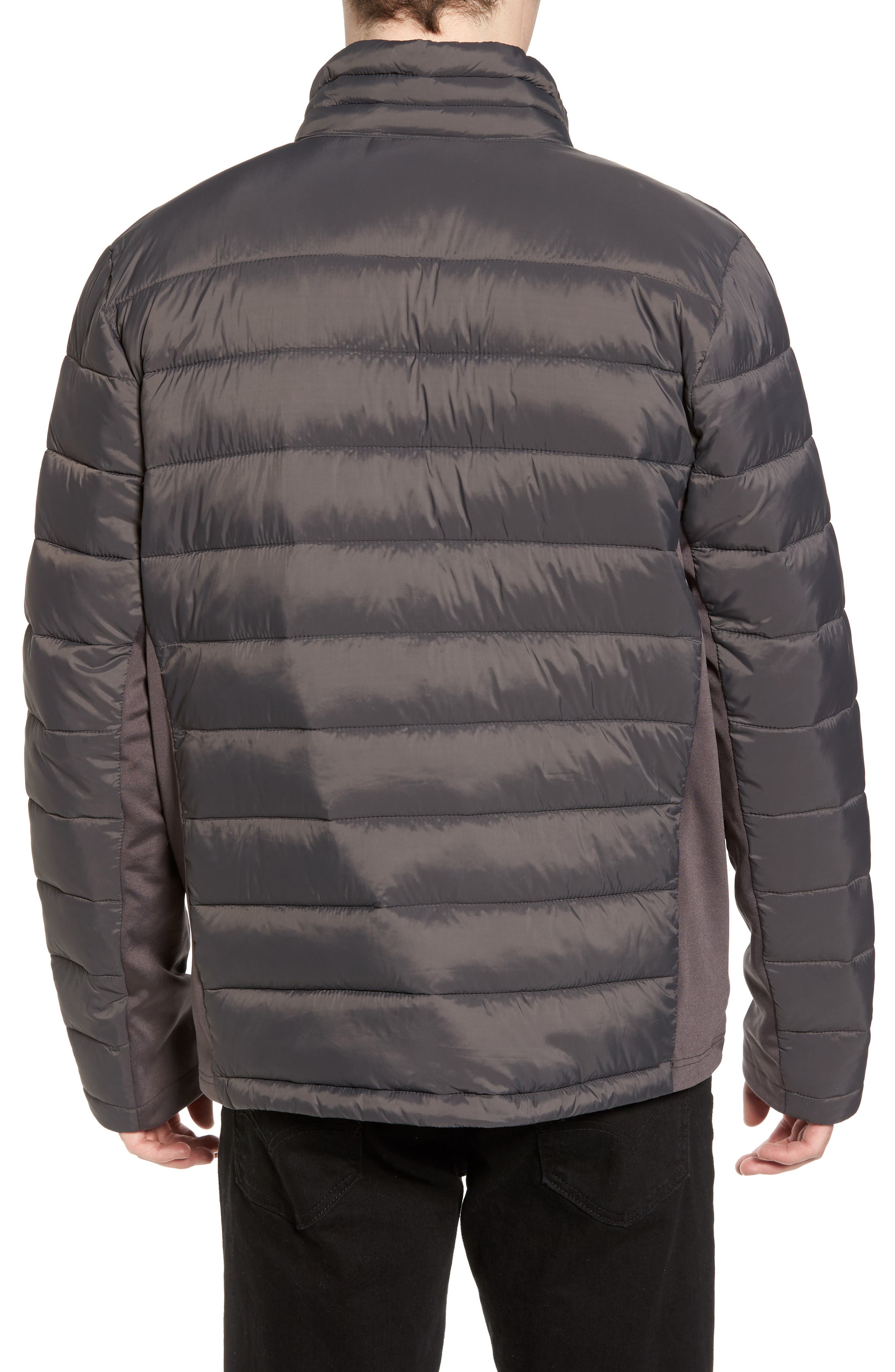 Water Resistant Packable Puffer Jacket,                             Alternate thumbnail 6, color,