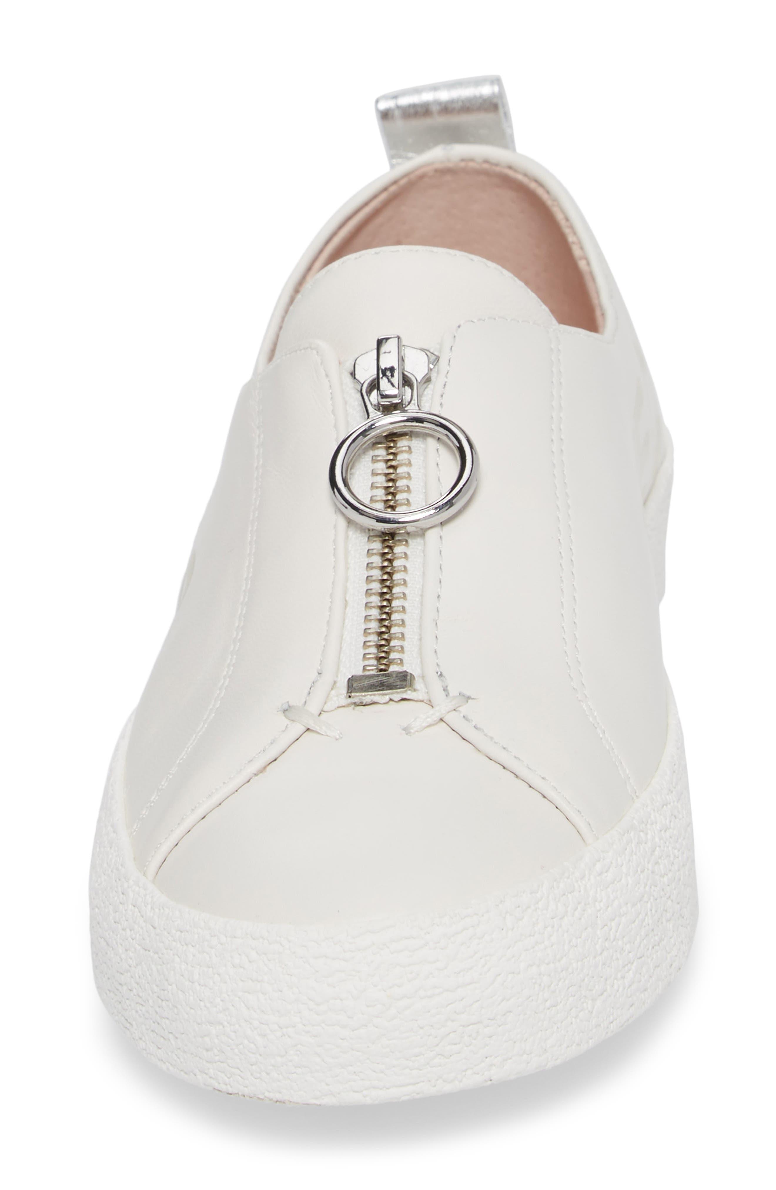 Sasha Zip Sneaker,                             Alternate thumbnail 10, color,