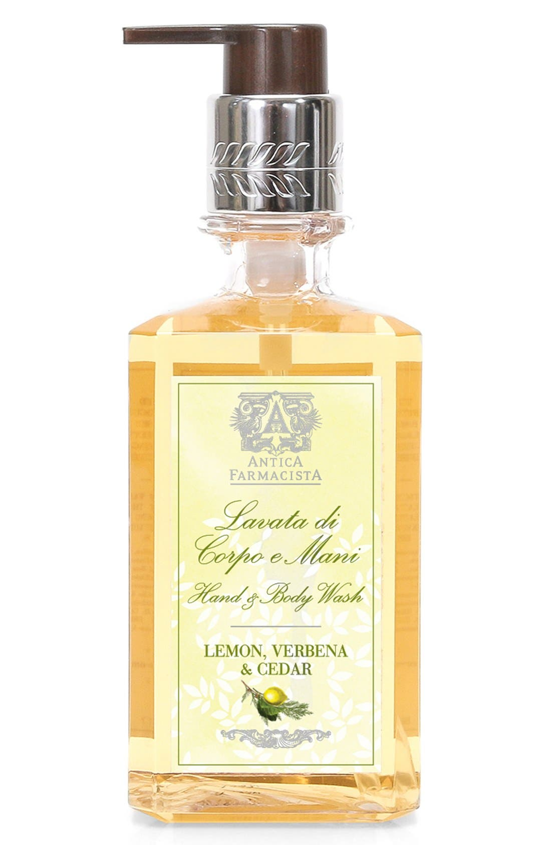 'Lemon, Verbena & Cedar' Hand Wash,                             Main thumbnail 1, color,                             NO COLOR