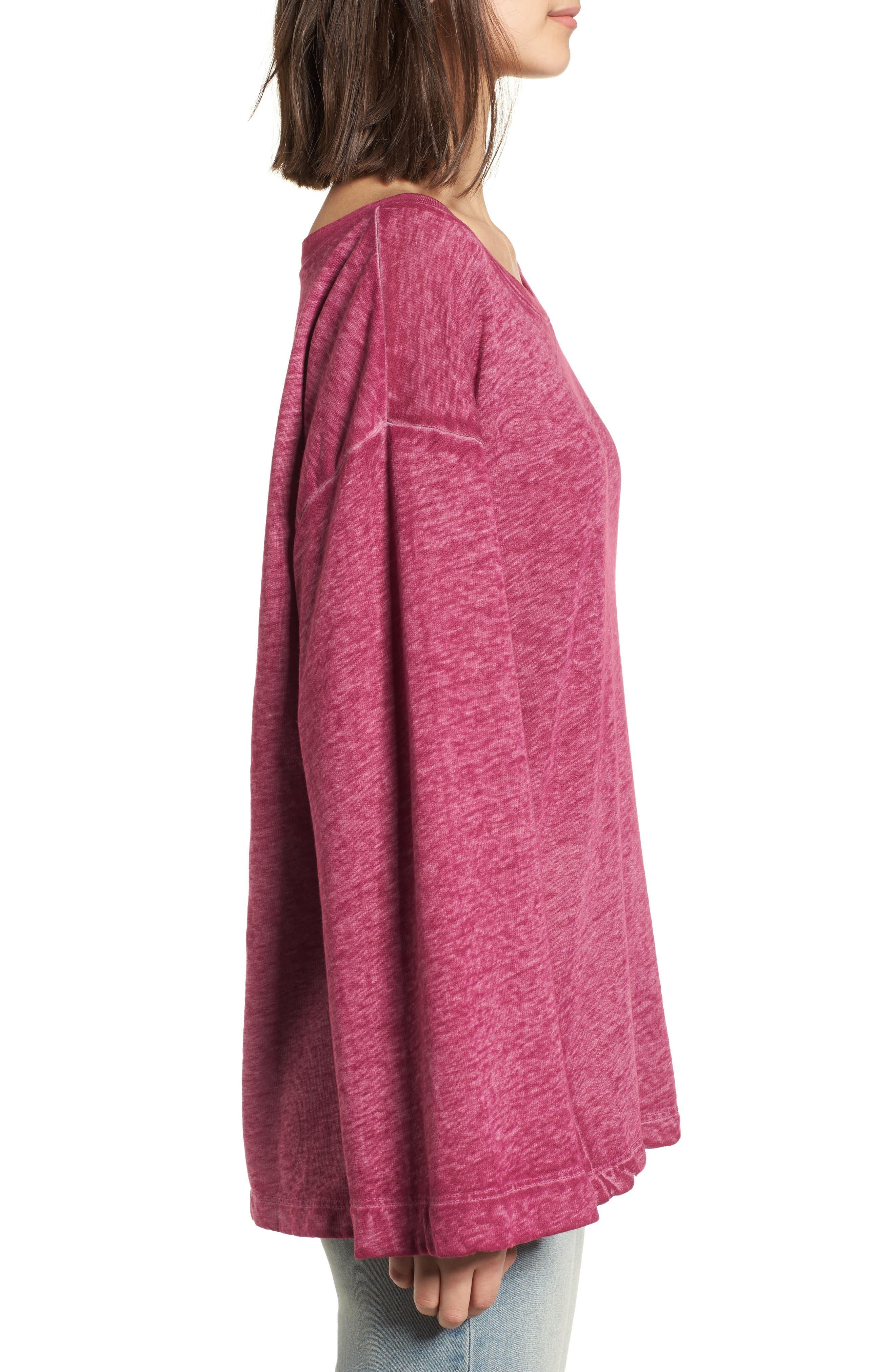 Bell Sleeve Sweatshirt,                             Alternate thumbnail 14, color,