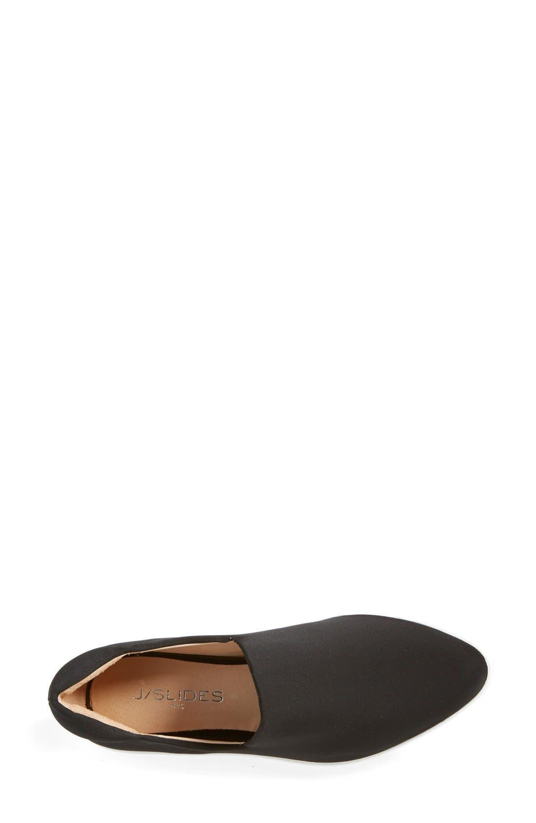 'Dibbie' Slip-On Sneaker,                             Alternate thumbnail 4, color,                             001