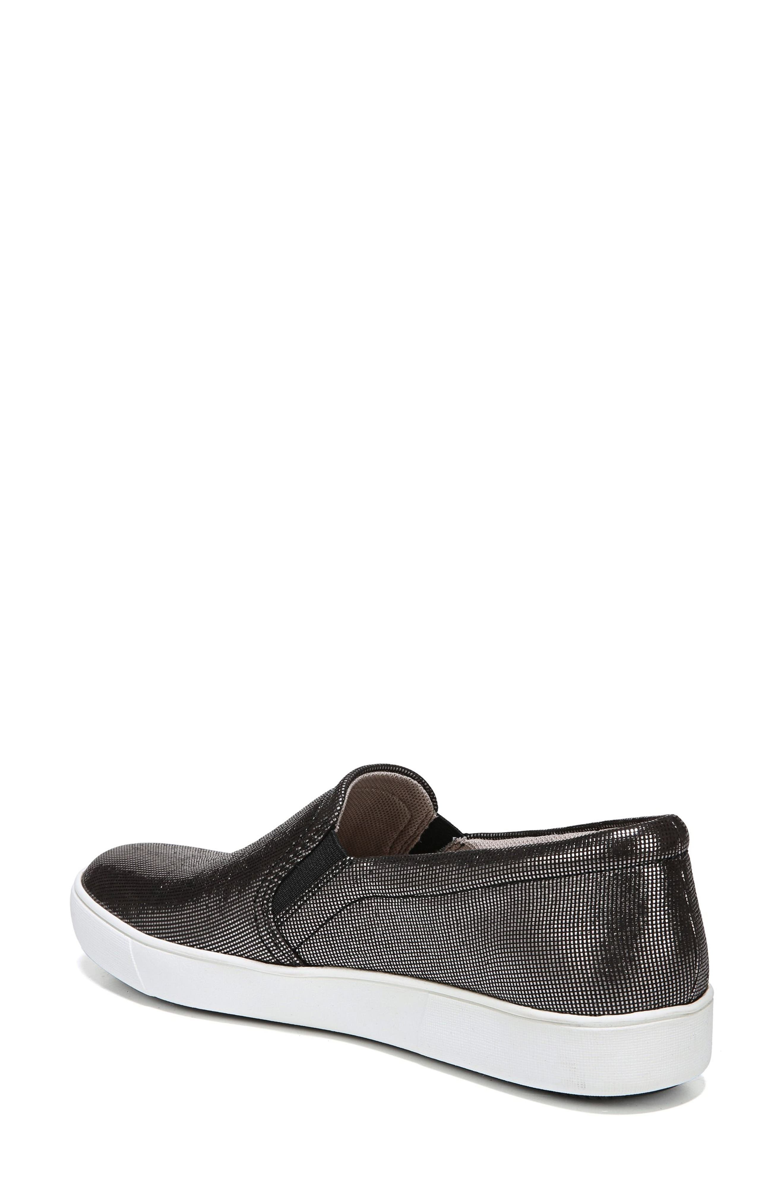 Marianne Slip-On Sneaker,                             Alternate thumbnail 2, color,                             DEEP SILVER PRINTED LEATHER