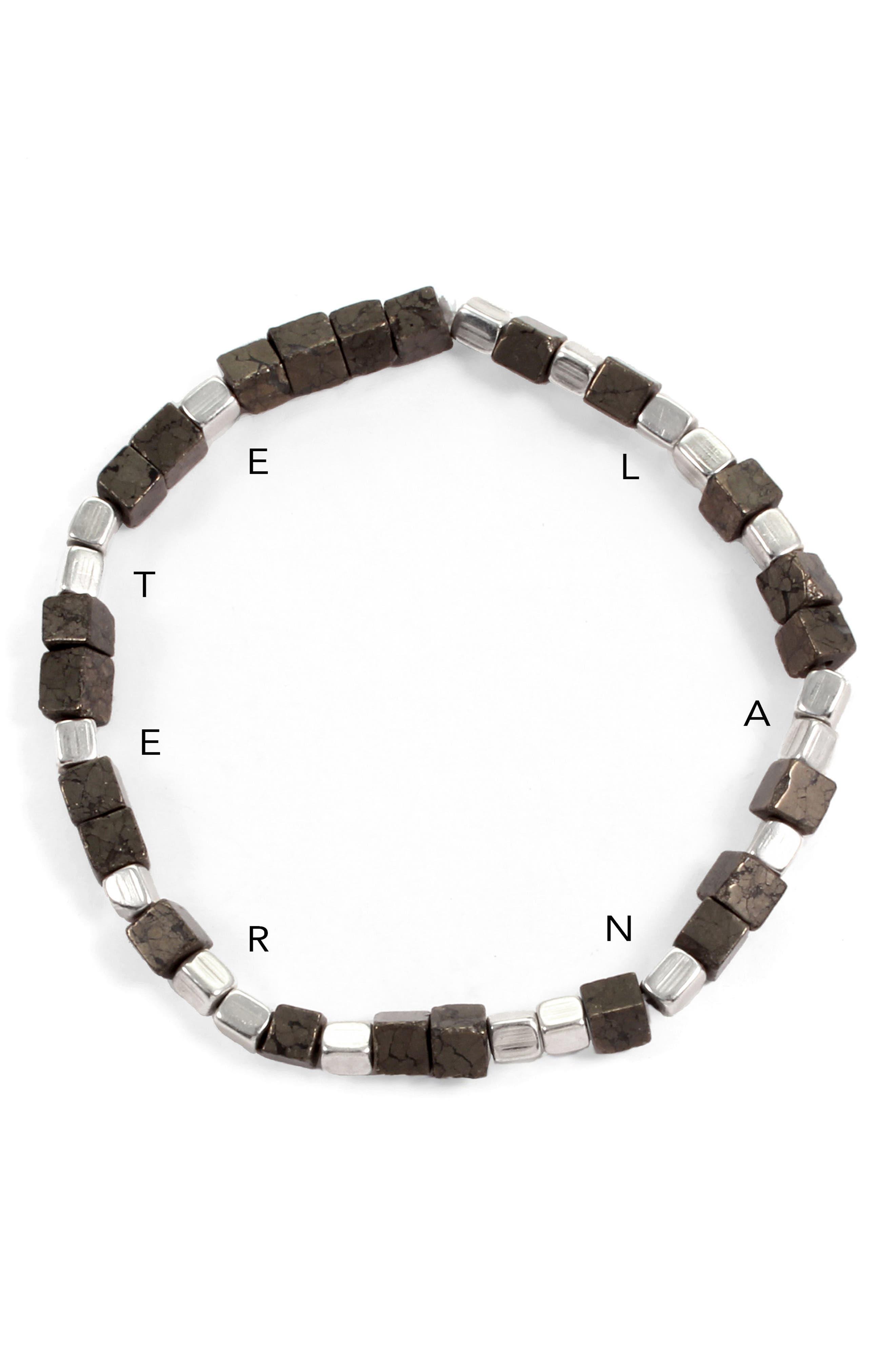 Eternal Morse Beaded Bracelet,                             Alternate thumbnail 2, color,                             040