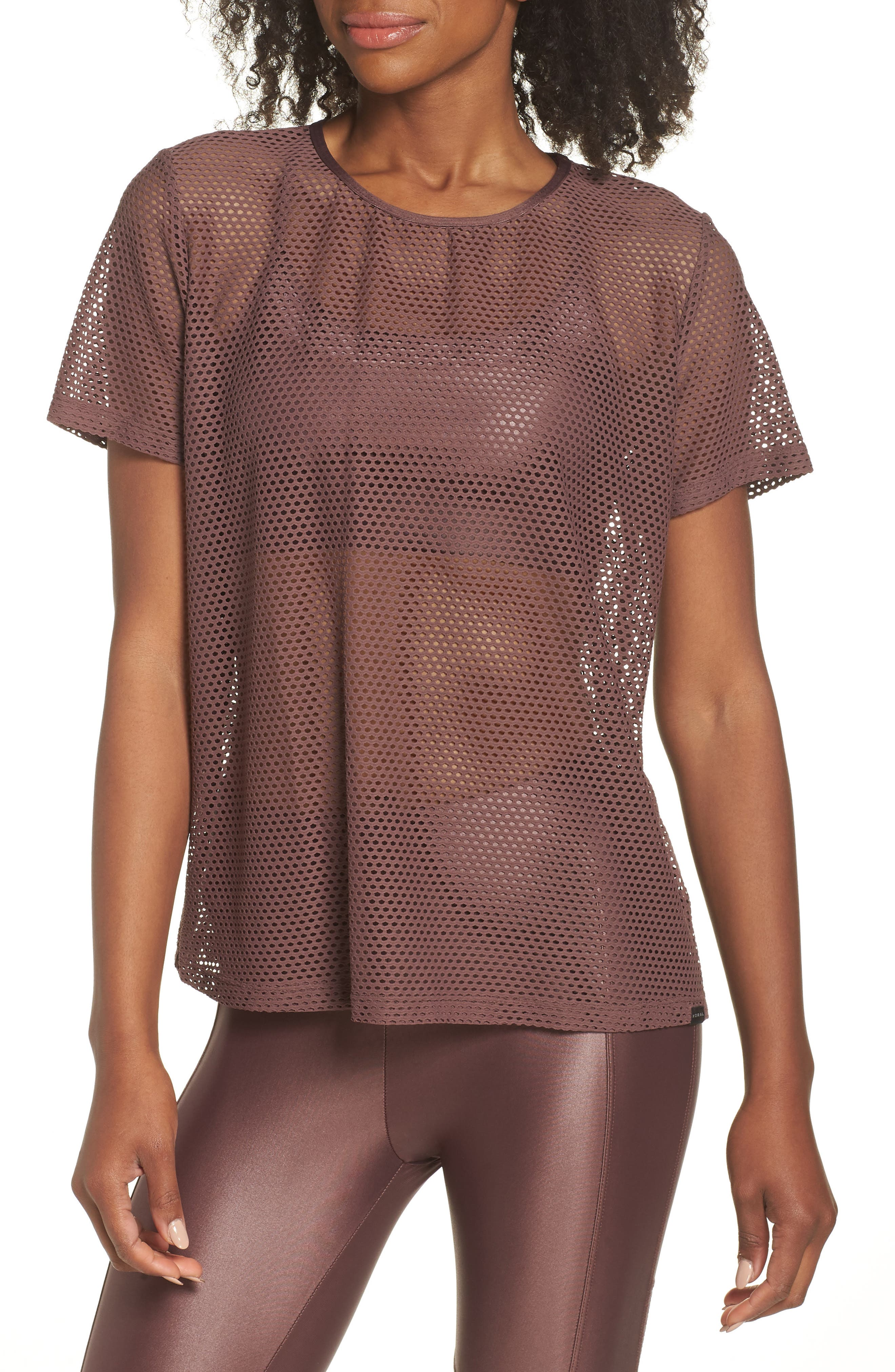 Size Up Mesh Tee,                         Main,                         color, 530