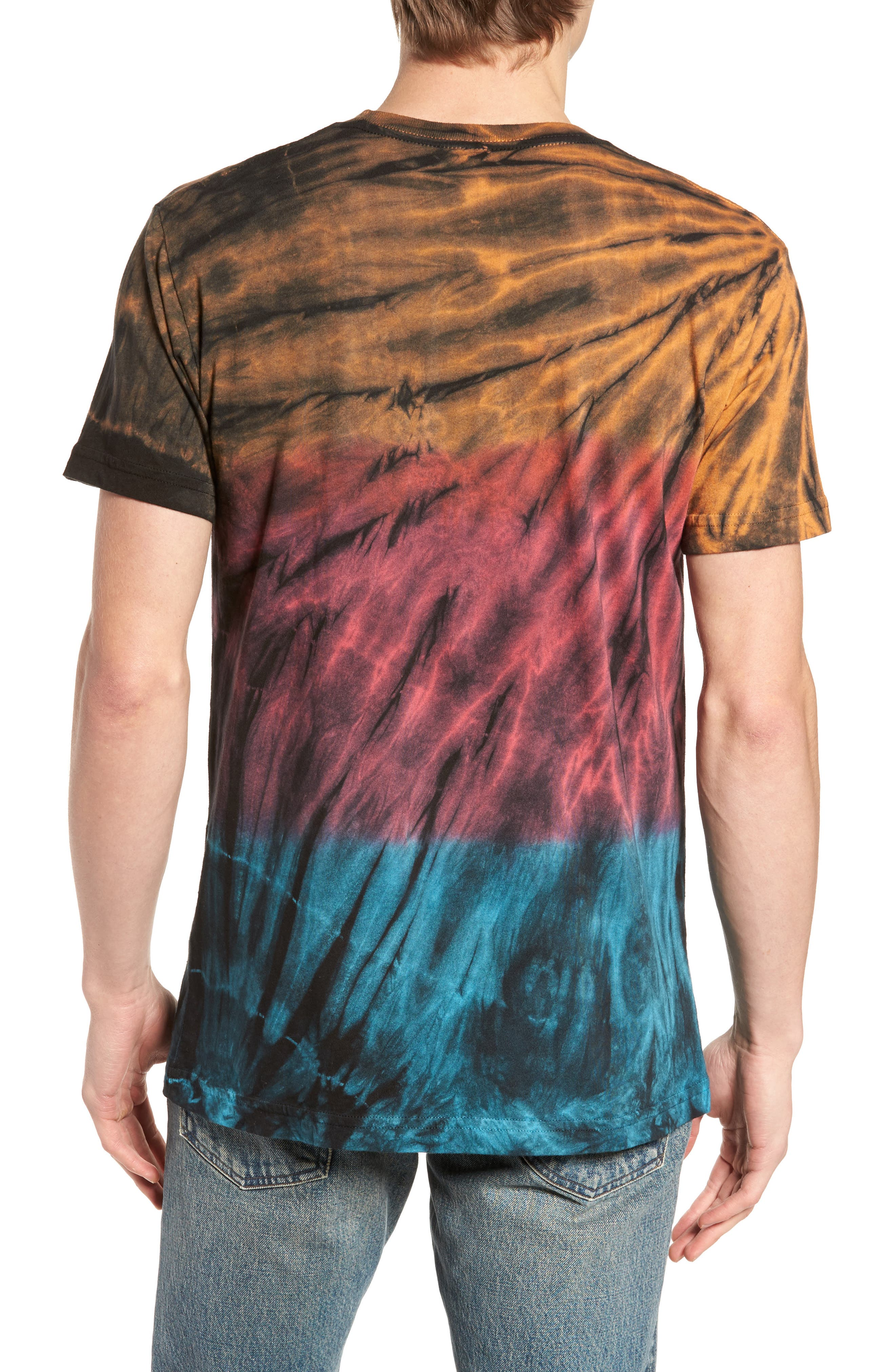 The Lawn Graphic Tie Dye T-Shirt,                             Alternate thumbnail 2, color,                             001