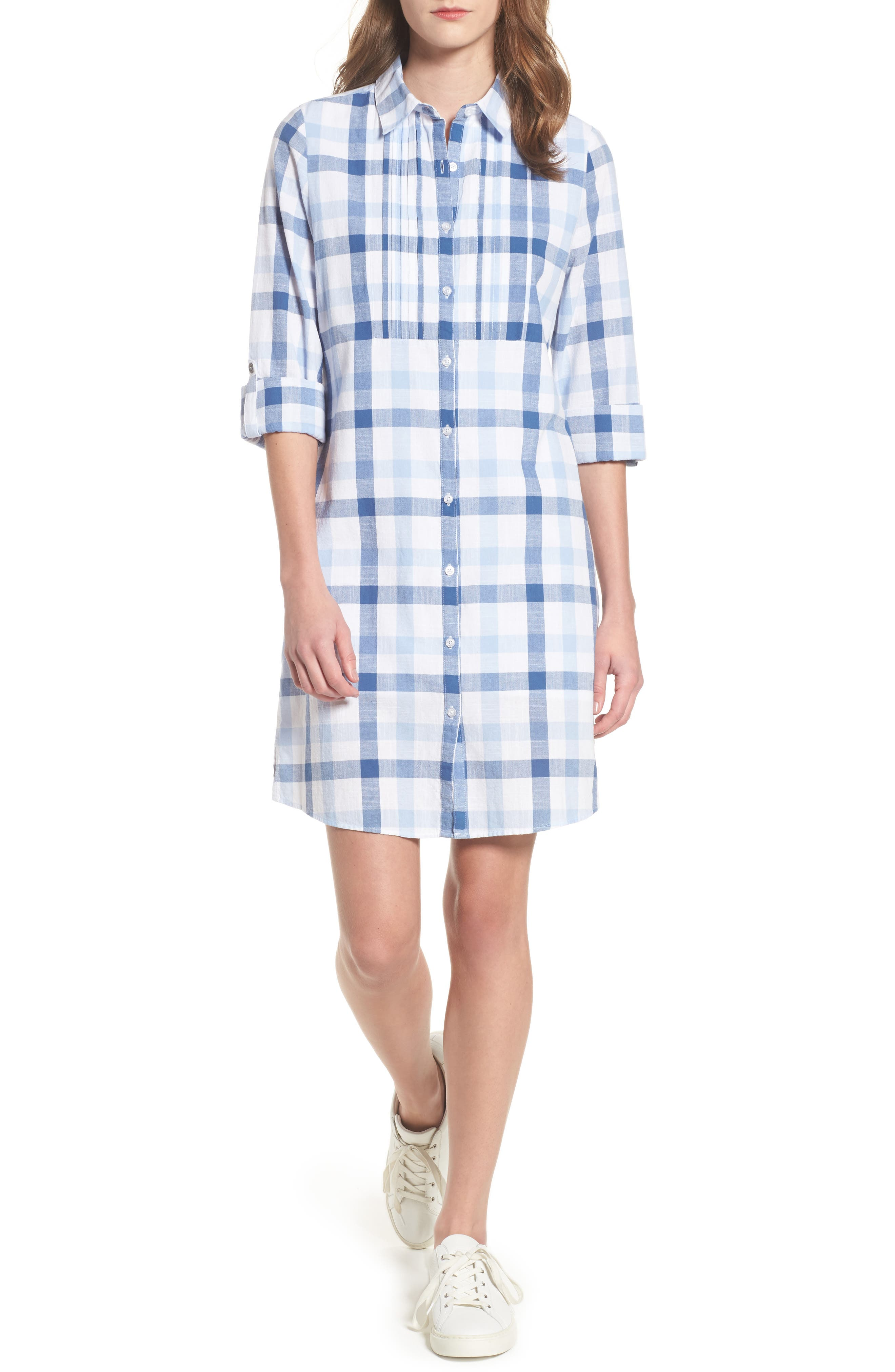Bamburgh Shirtdress,                         Main,                         color, 400