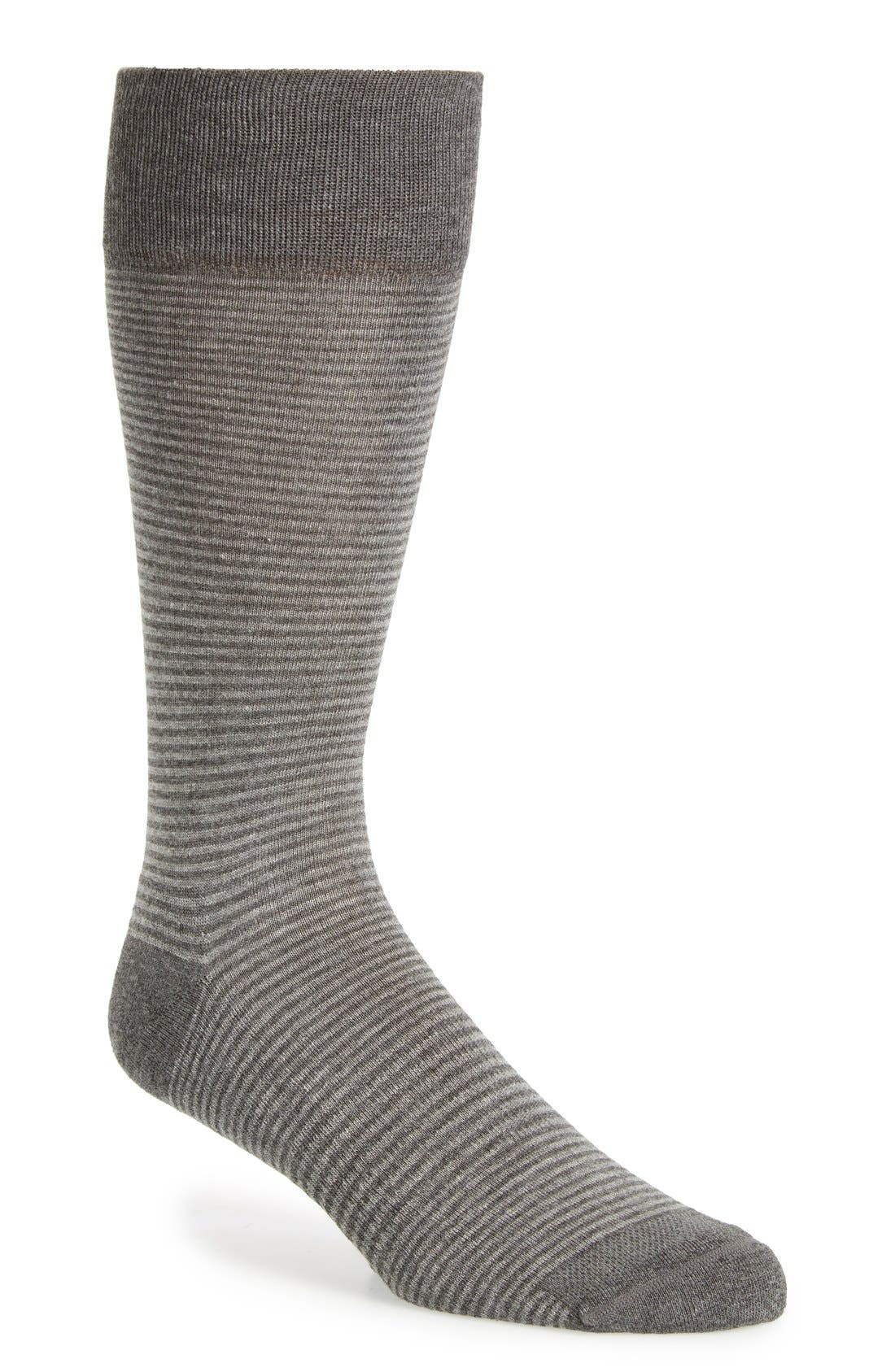 Feeder Stripe Socks,                             Main thumbnail 5, color,