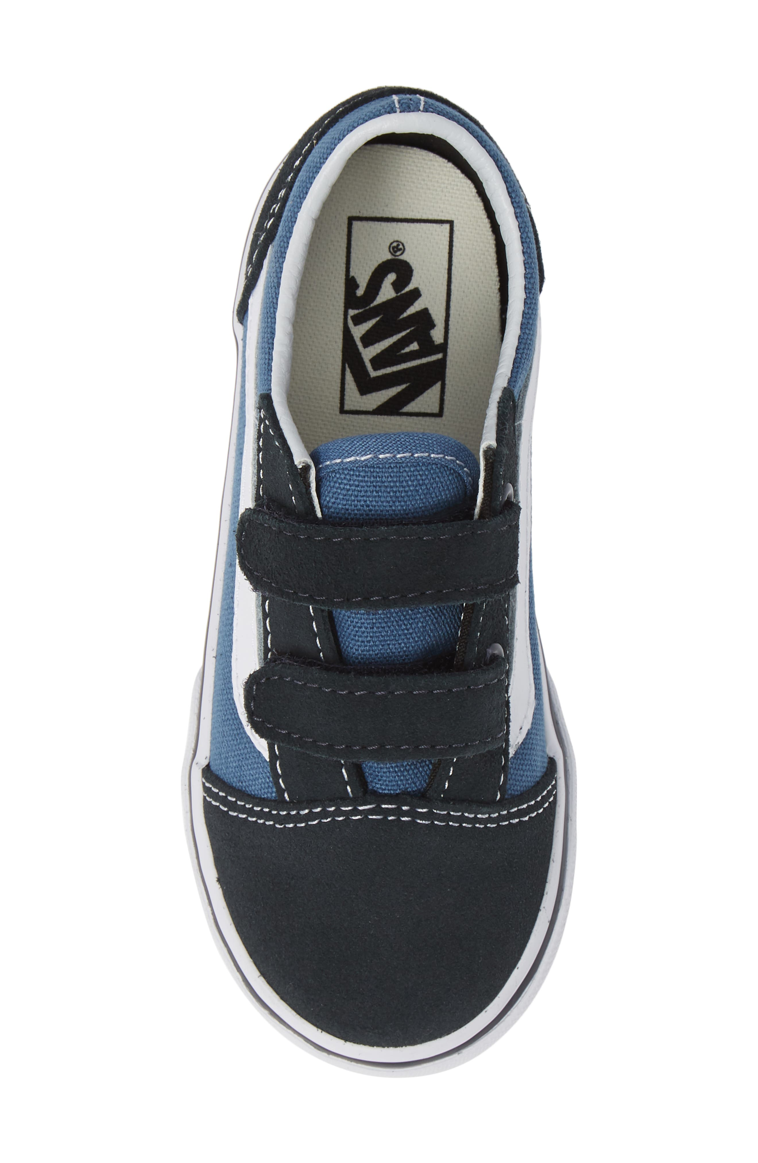 'Old Skool' Sneaker,                             Alternate thumbnail 5, color,                             NAVY