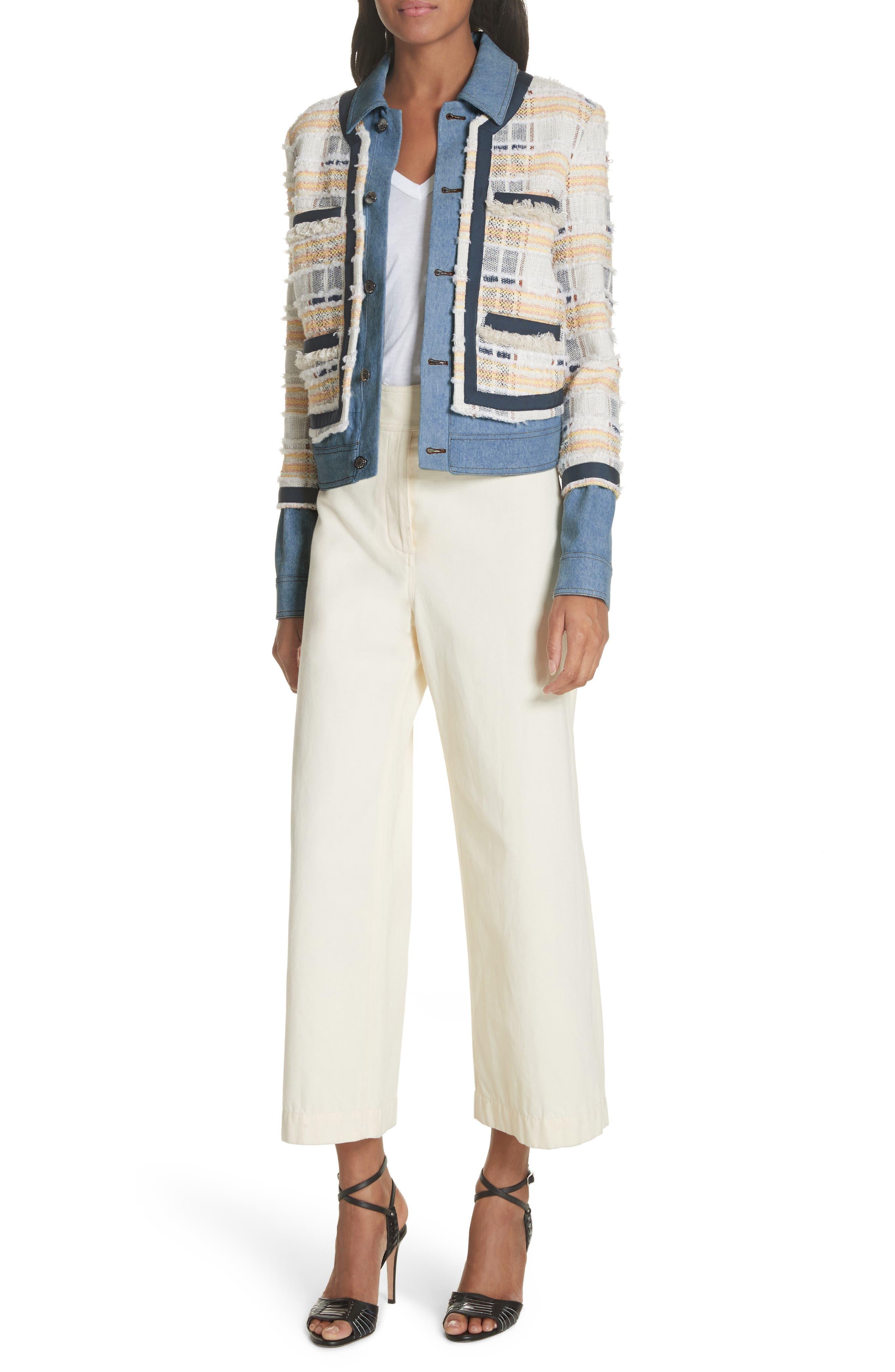 Caymen Cotton Gaucho Pants,                             Alternate thumbnail 7, color,