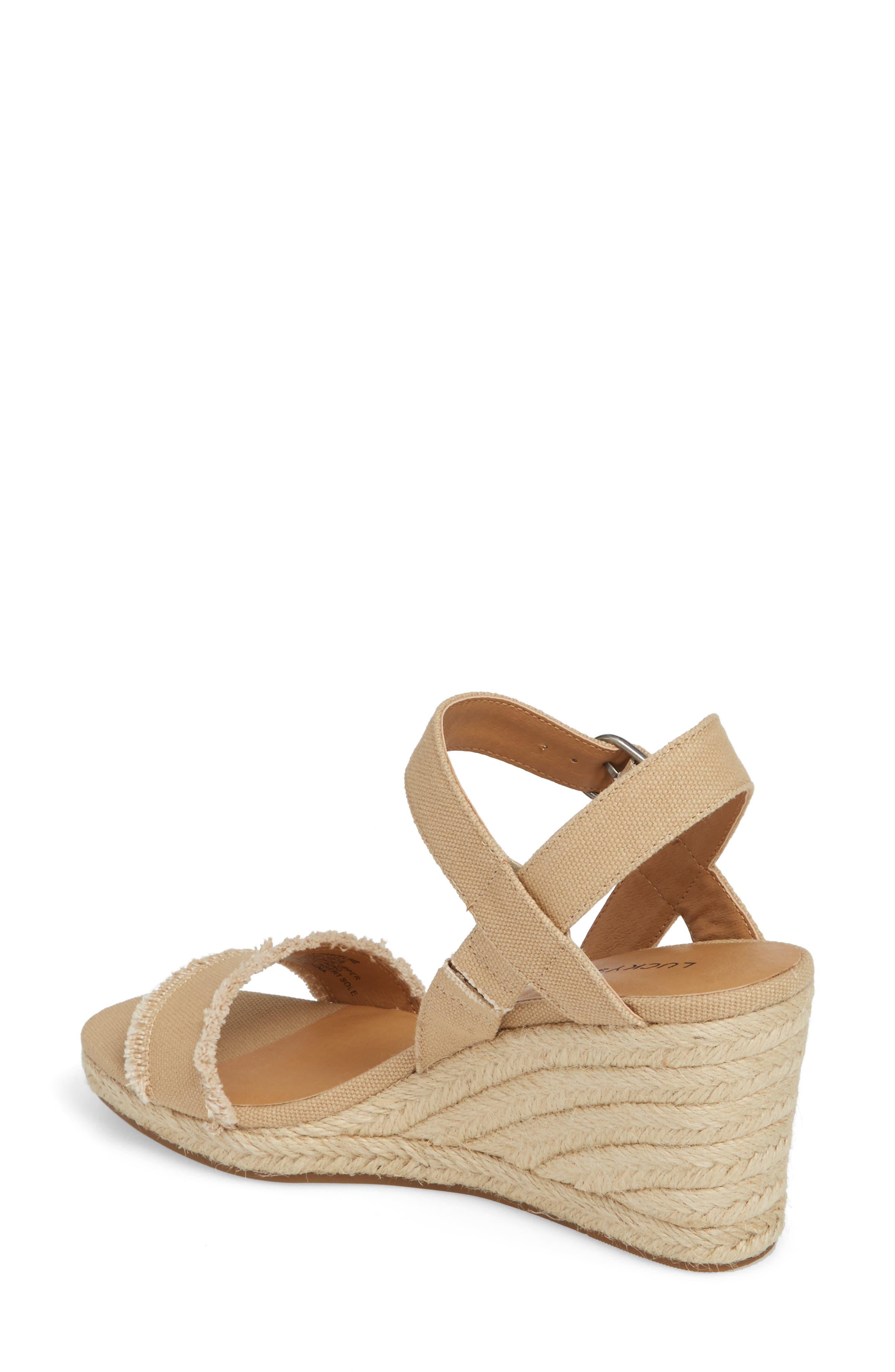 Marceline Squared Toe Wedge Sandal,                             Alternate thumbnail 10, color,