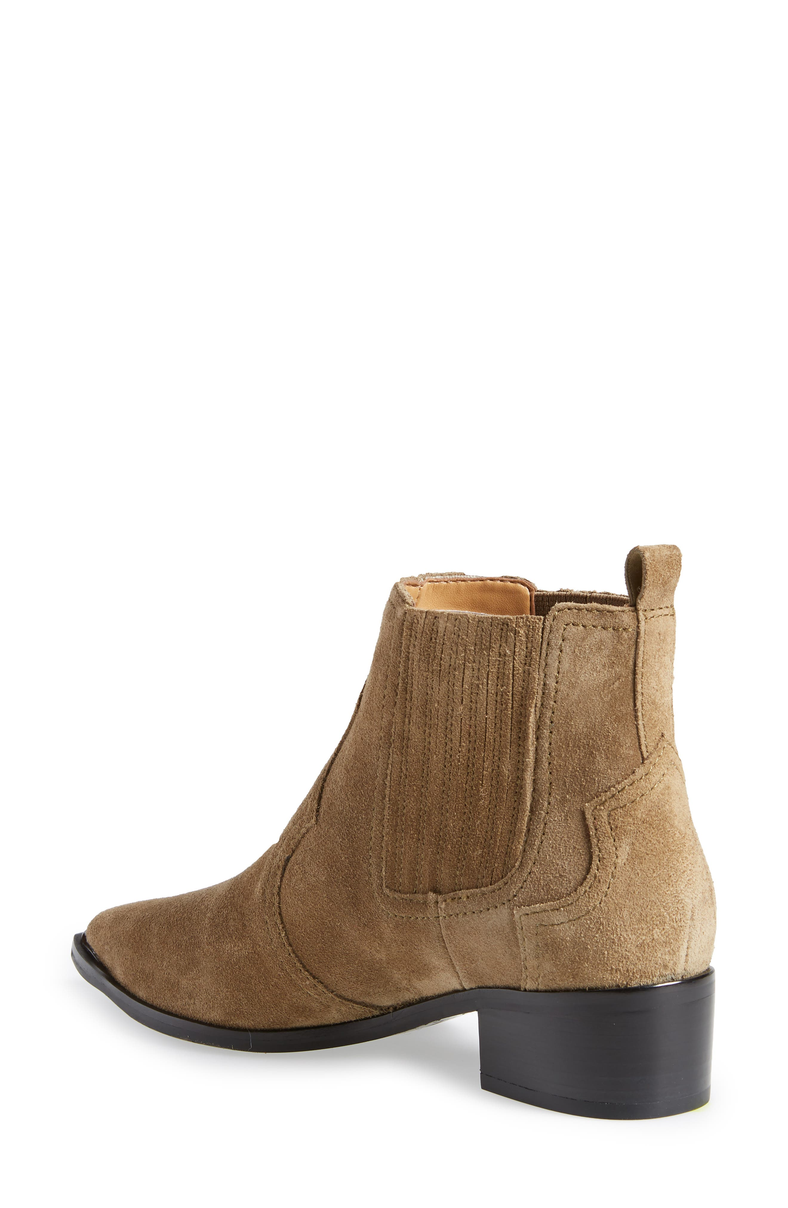 Yohani Bootie,                             Alternate thumbnail 2, color,                             TAUPE SUEDE