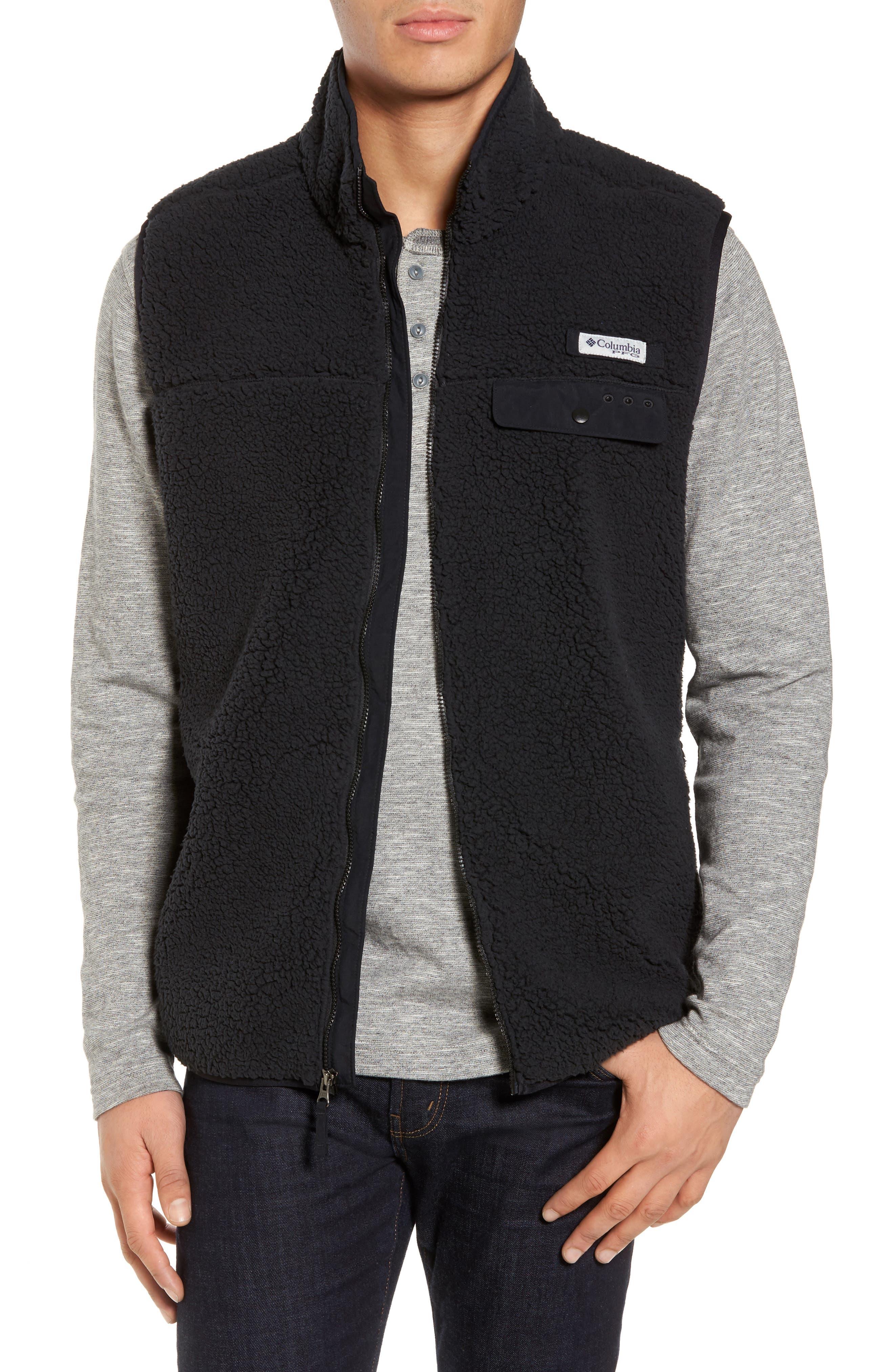 Sportswear Harborside Heavyweight Fleece Vest,                             Main thumbnail 1, color,                             010