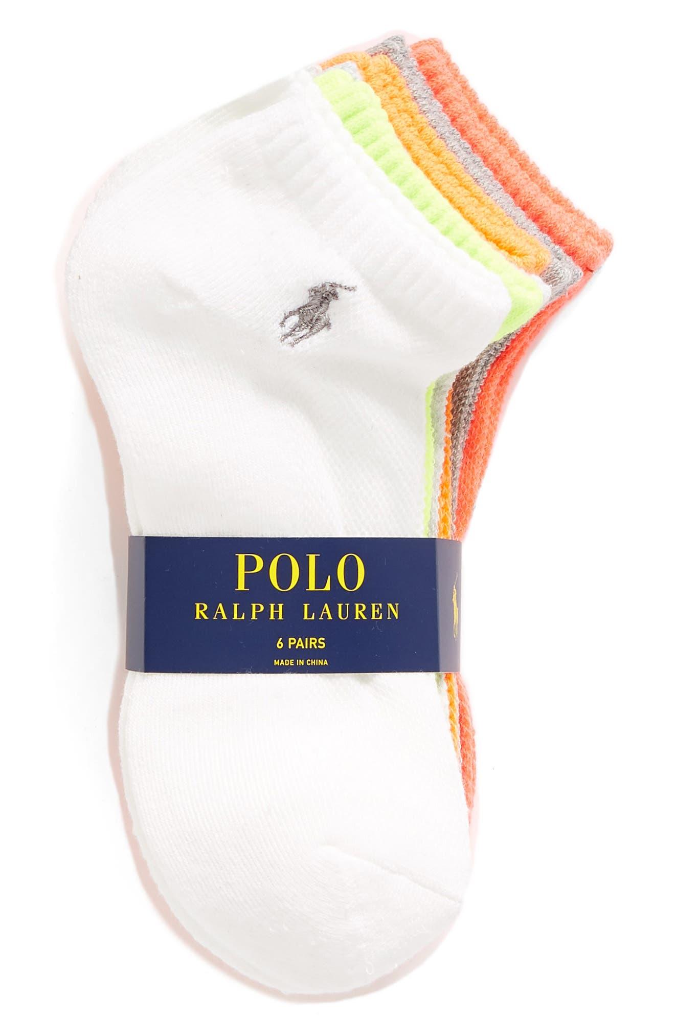 Sport 6-Pack Low-Cut Socks,                             Alternate thumbnail 14, color,