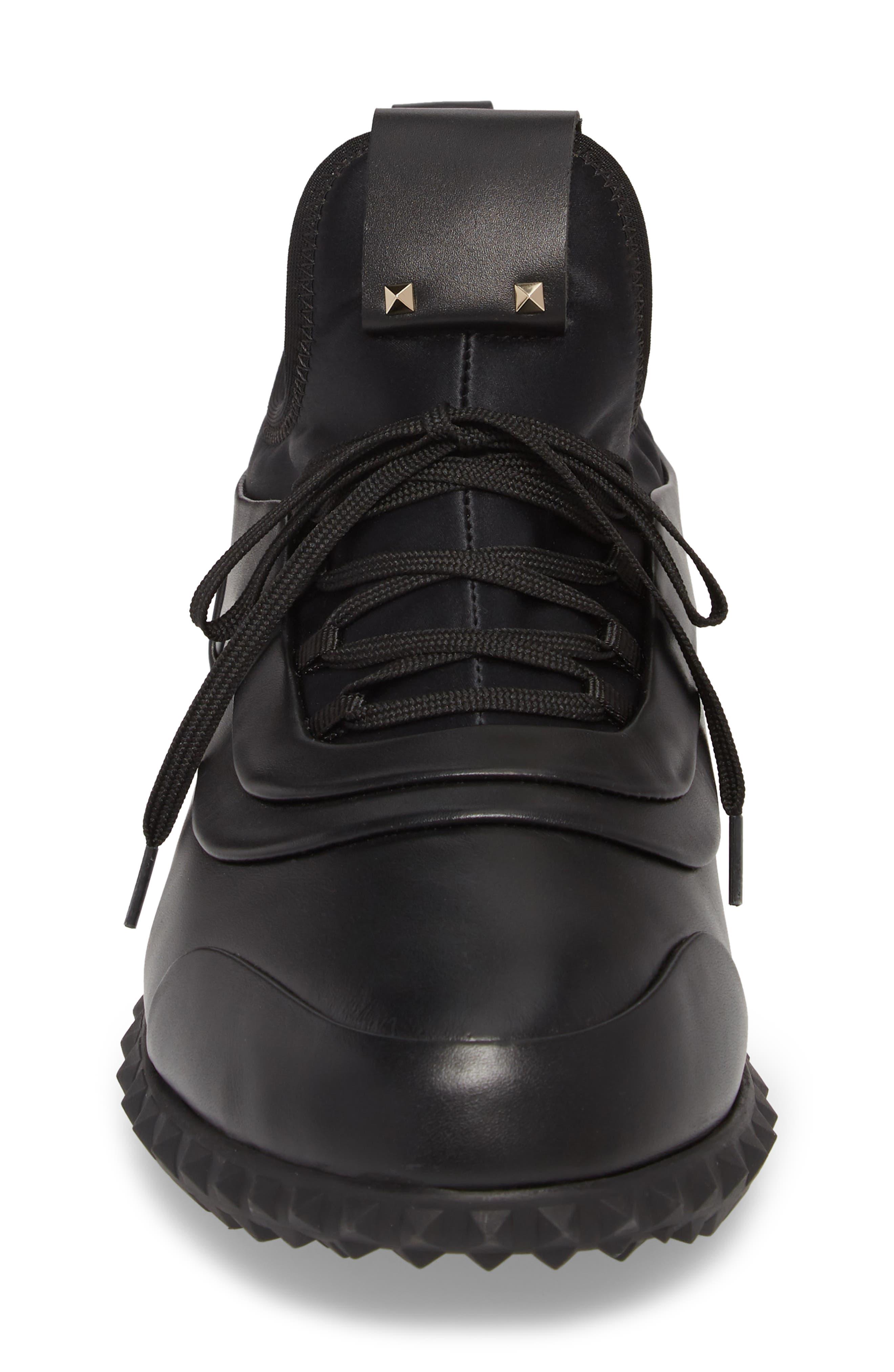 Bodytech Sneaker,                             Alternate thumbnail 4, color,                             BLACK/ BLACK