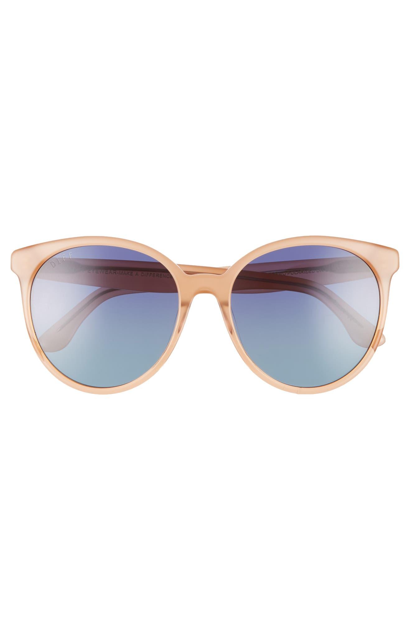 3c5c770e77 DIFF Cosmo 56mm Polarized Round Sunglasses