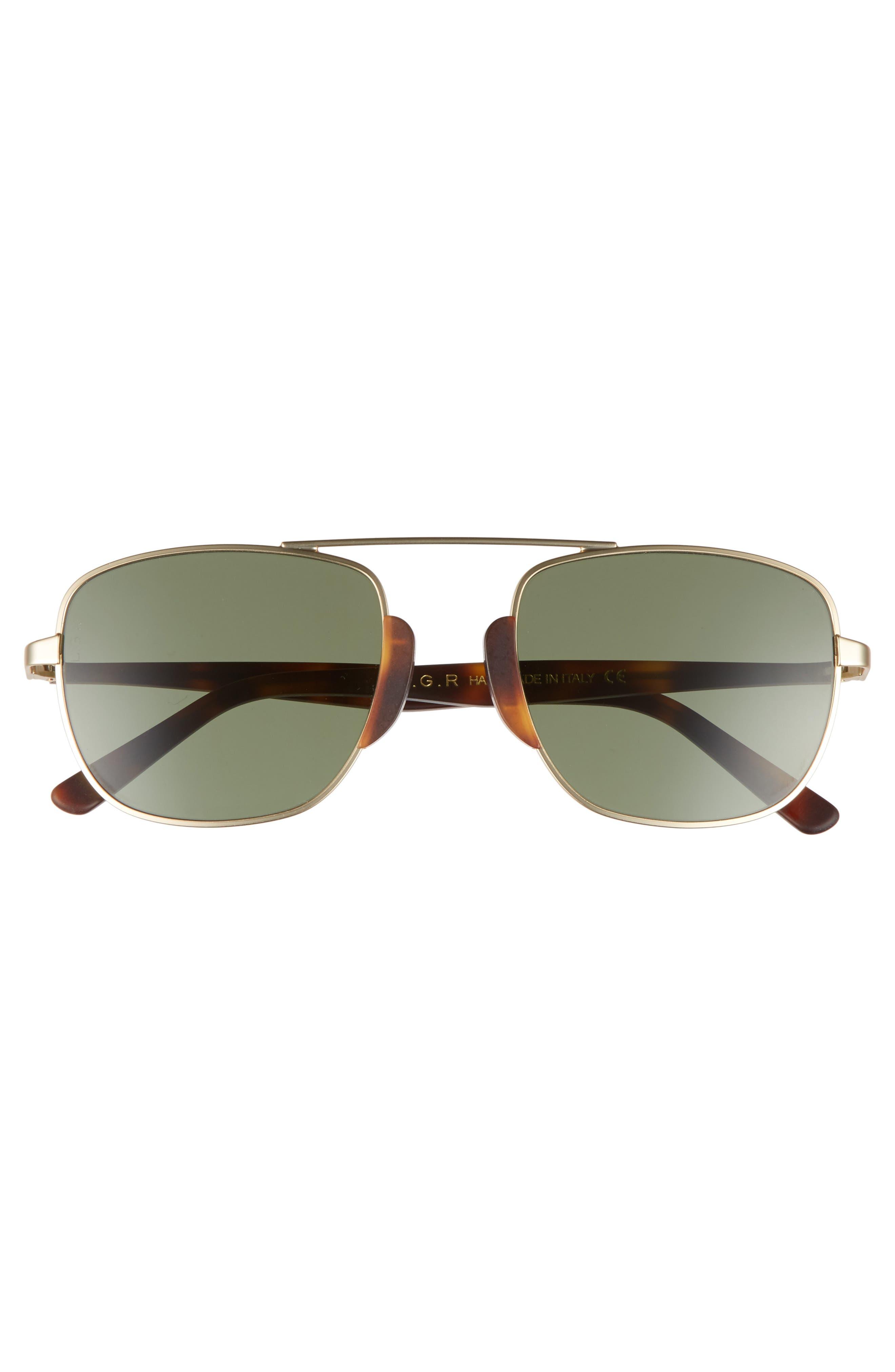 Negus 56mm Sunglasses,                             Alternate thumbnail 4, color,