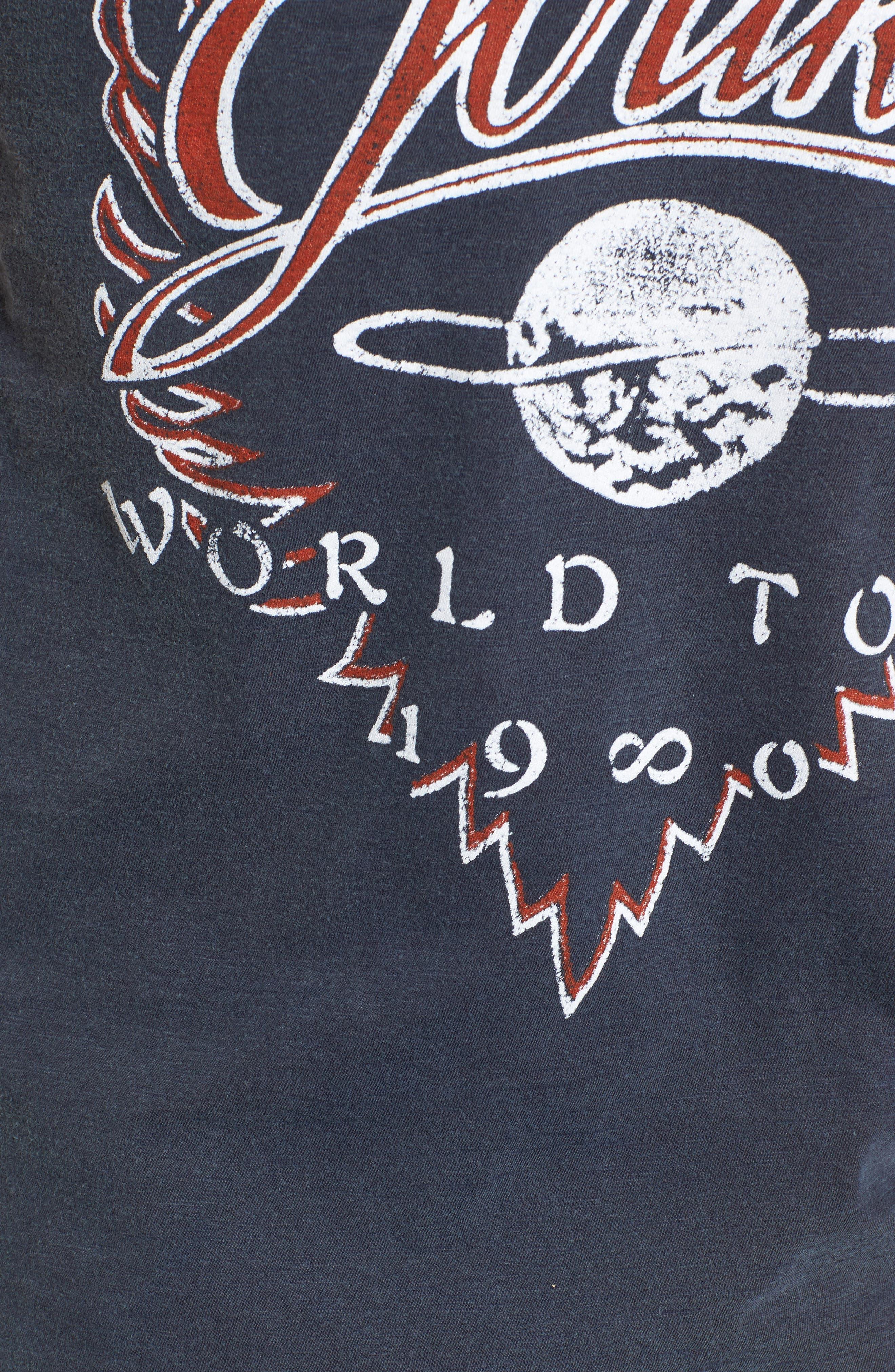 Journey Departure Tour Tee,                             Alternate thumbnail 5, color,                             489